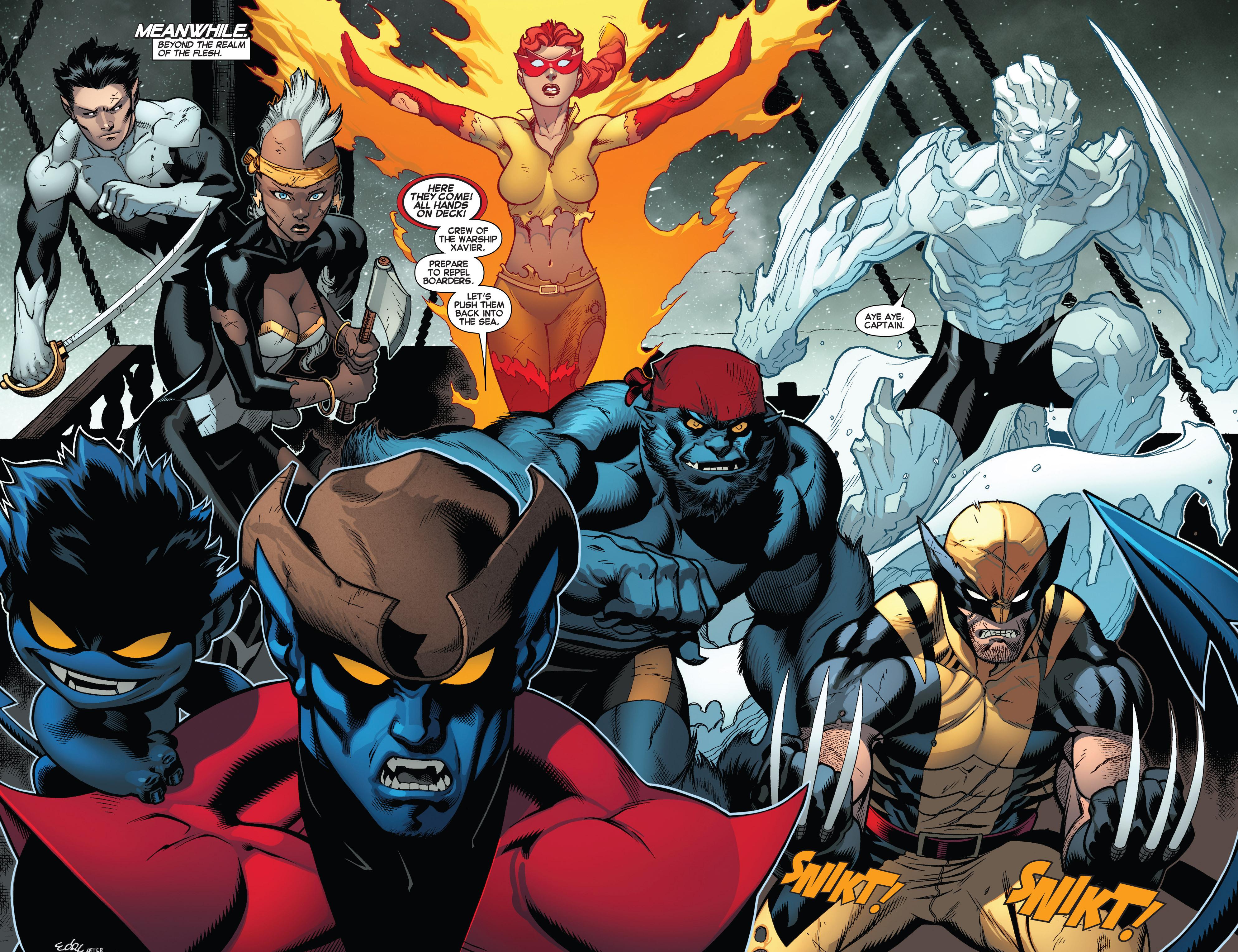 Read online Amazing X-Men (2014) comic -  Issue #5 - 5