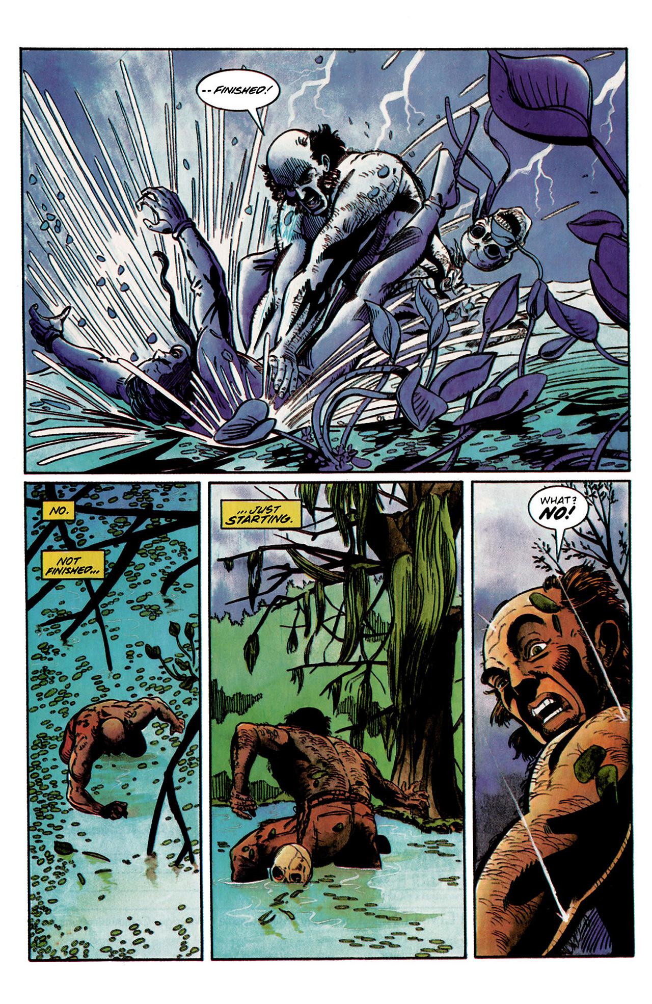 Read online Shadowman (1992) comic -  Issue #2 - 21