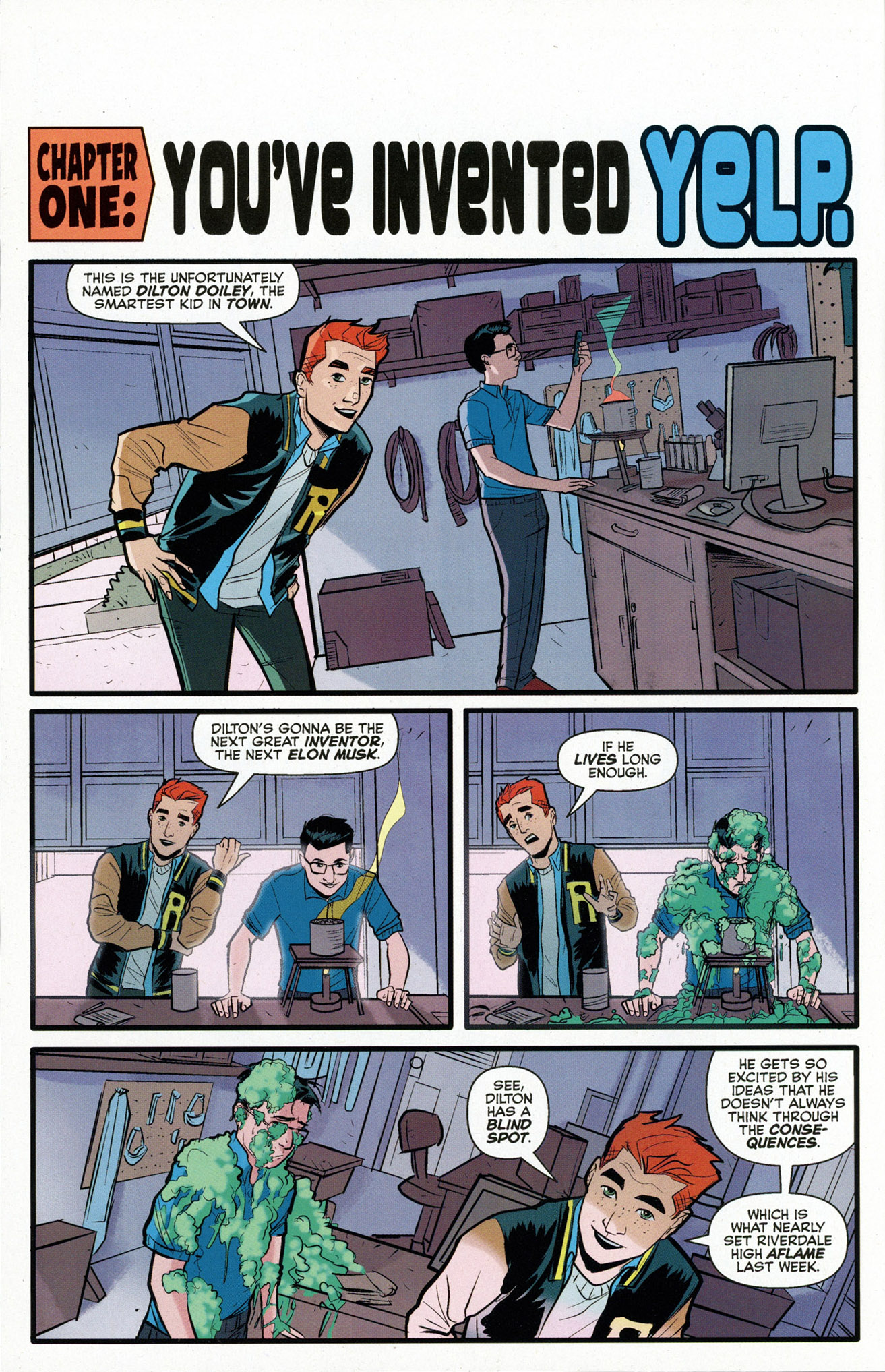 Read online Archie (2015) comic -  Issue #16 - 4