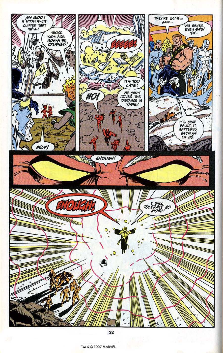Read online Silver Surfer (1987) comic -  Issue # _Annual 4 - 34