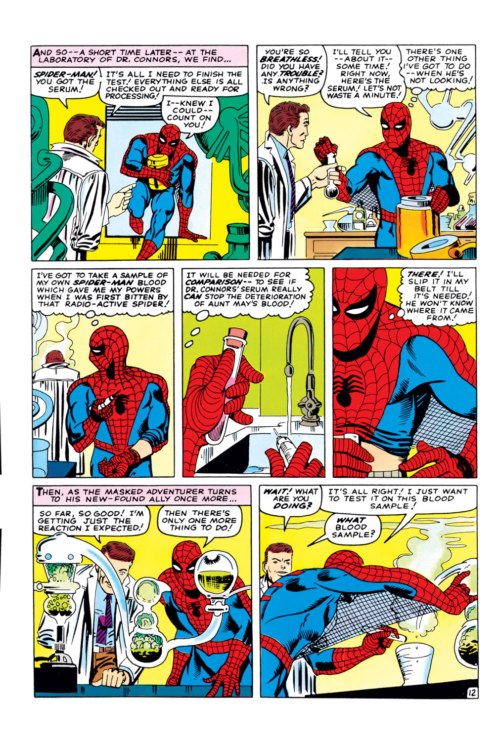 The Amazing Spider-Man (1963) 33 Page 12