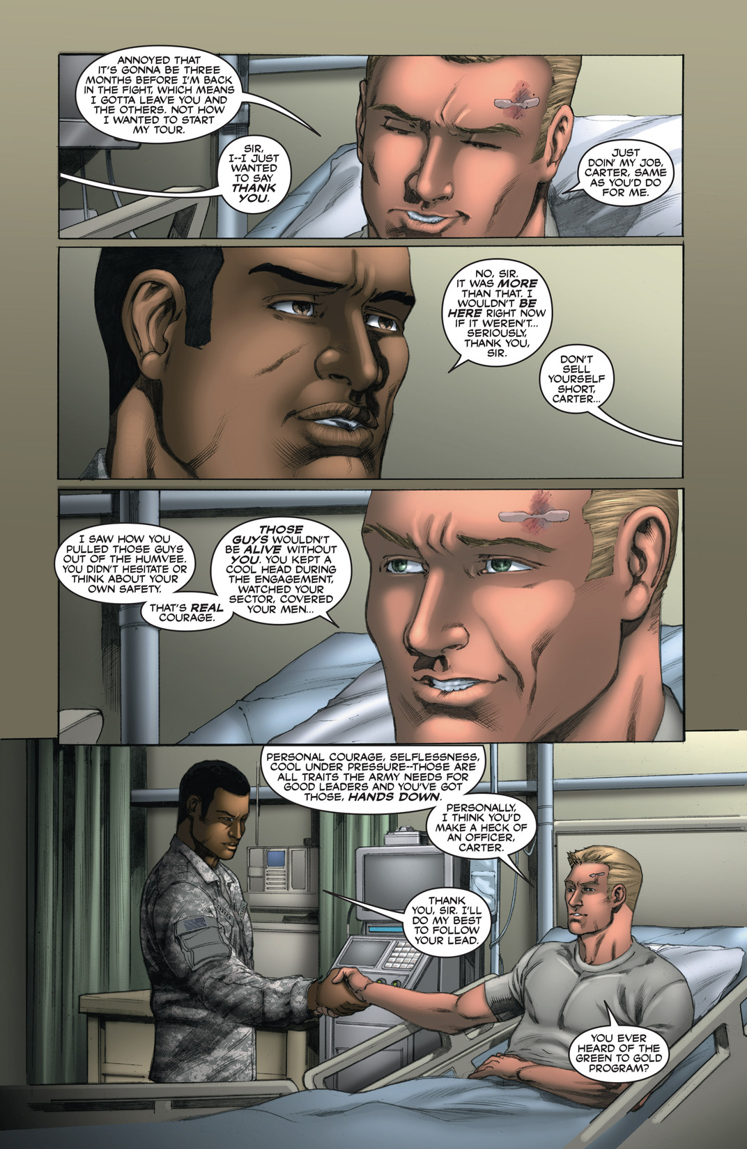 Read online America's Army comic -  Issue #13 - 21