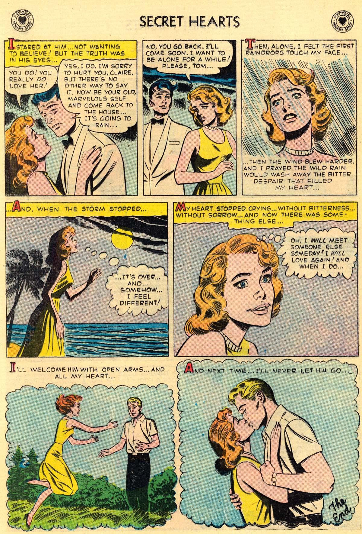 Read online Secret Hearts comic -  Issue #43 - 16