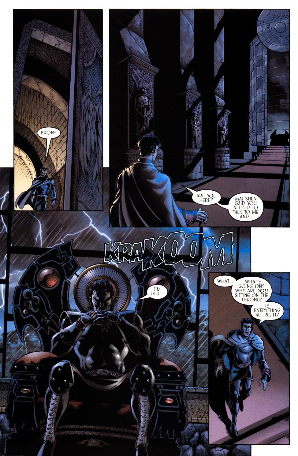 Read online Scion comic -  Issue #12 - 19