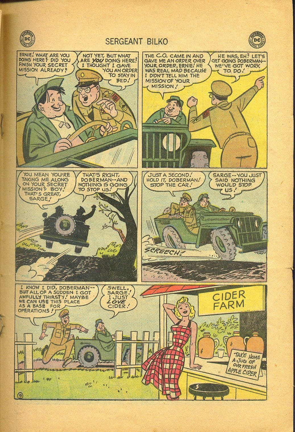 Sergeant Bilko issue 1 - Page 21