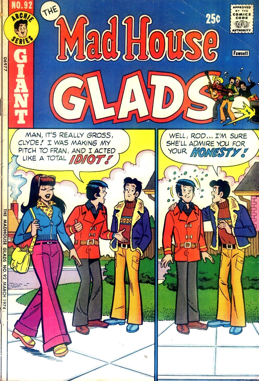 Read online The Mad House Glads comic -  Issue #92 - 1
