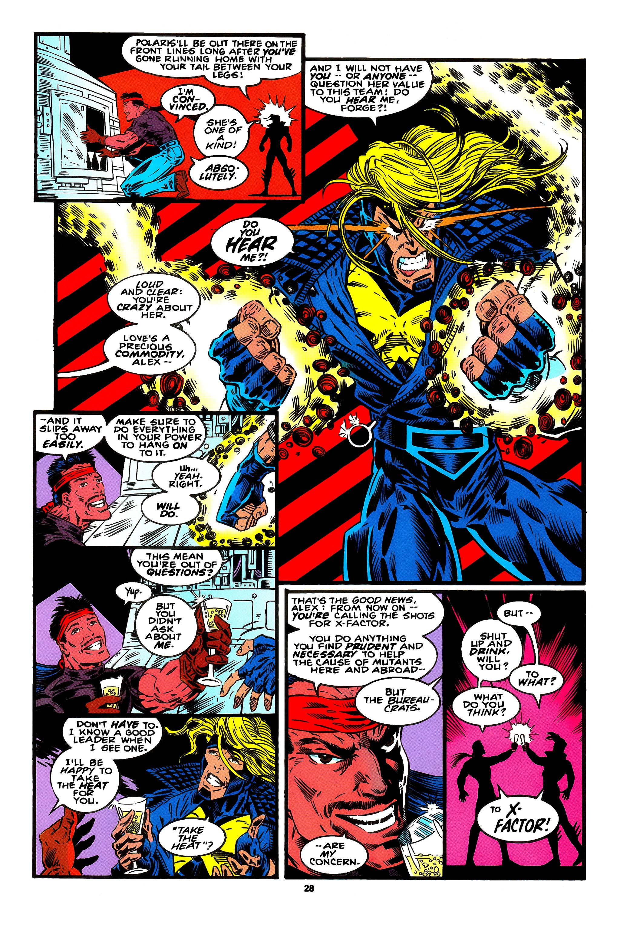 Read online X-Factor (1986) comic -  Issue #95 - 18