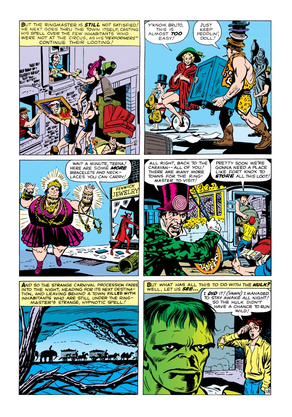 Read online Marvel Masterworks: The Incredible Hulk comic -  Issue # TPB 1 (Part 1) - 71