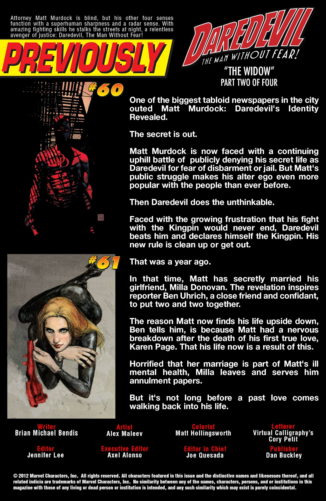 Read online Daredevil (1998) comic -  Issue # _Ultimate_Collection TPB 2 (Part 4) - 64
