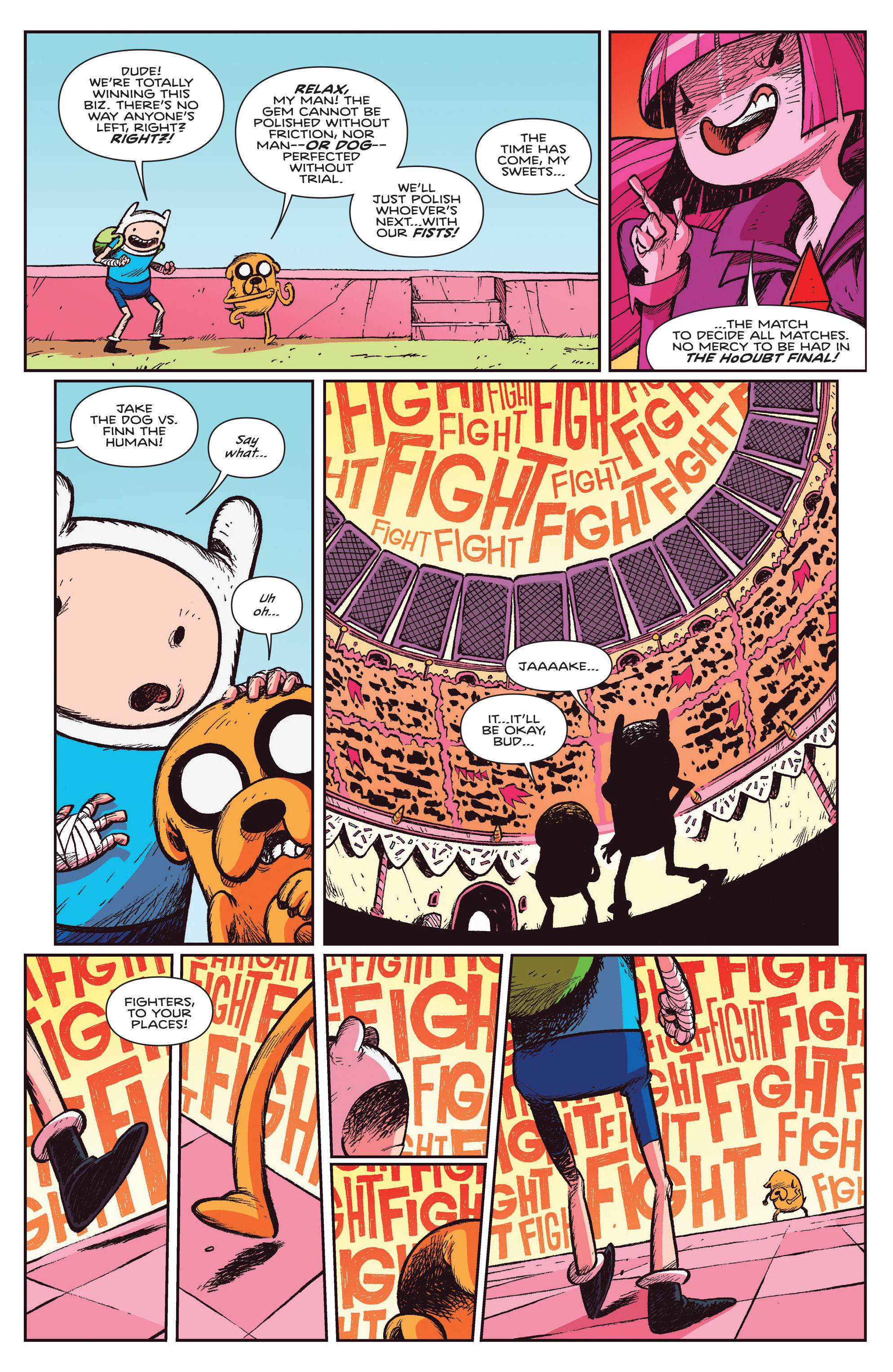Read online Adventure Time Comics comic -  Issue #10 - 5