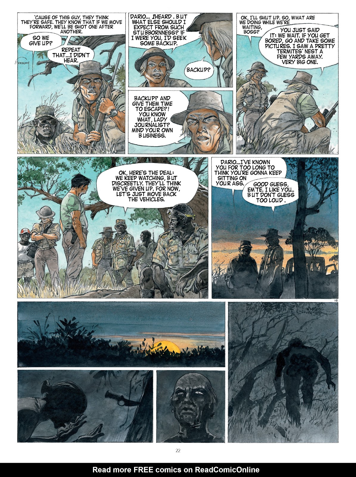 Read online Afrika comic -  Issue # TPB - 22