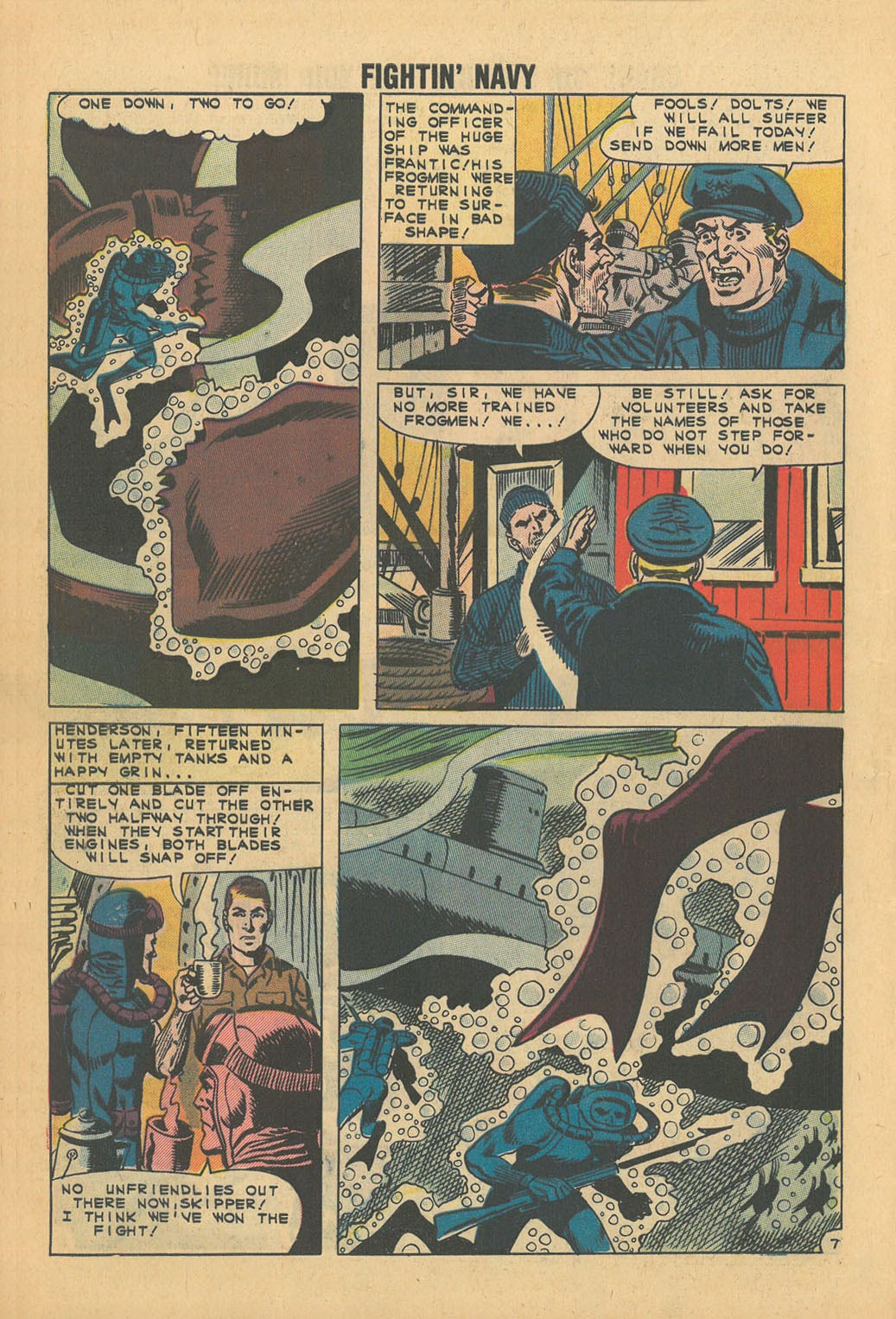 Read online Fightin' Navy comic -  Issue #100 - 10