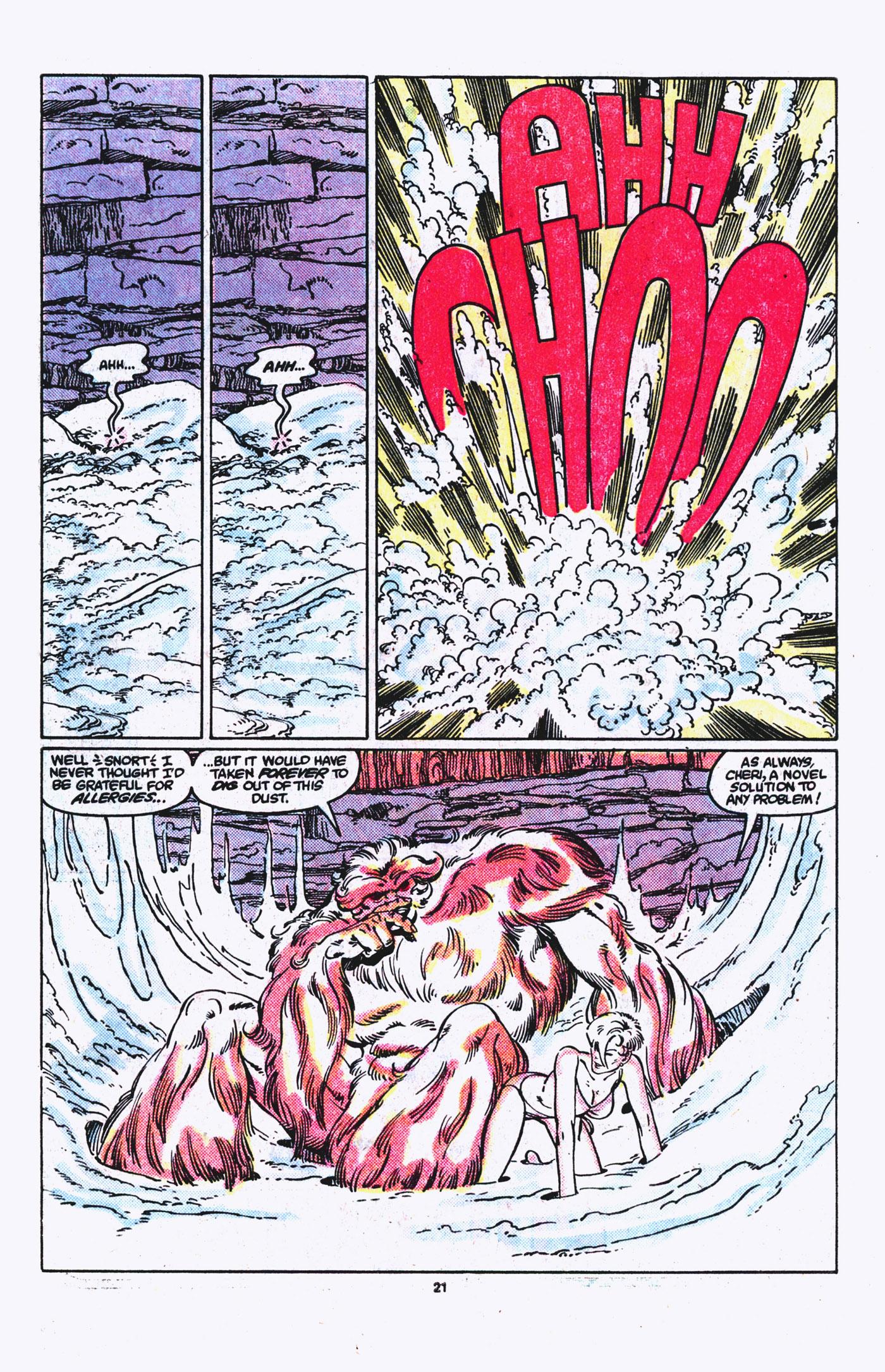 Read online Alpha Flight (1983) comic -  Issue #21 - 22