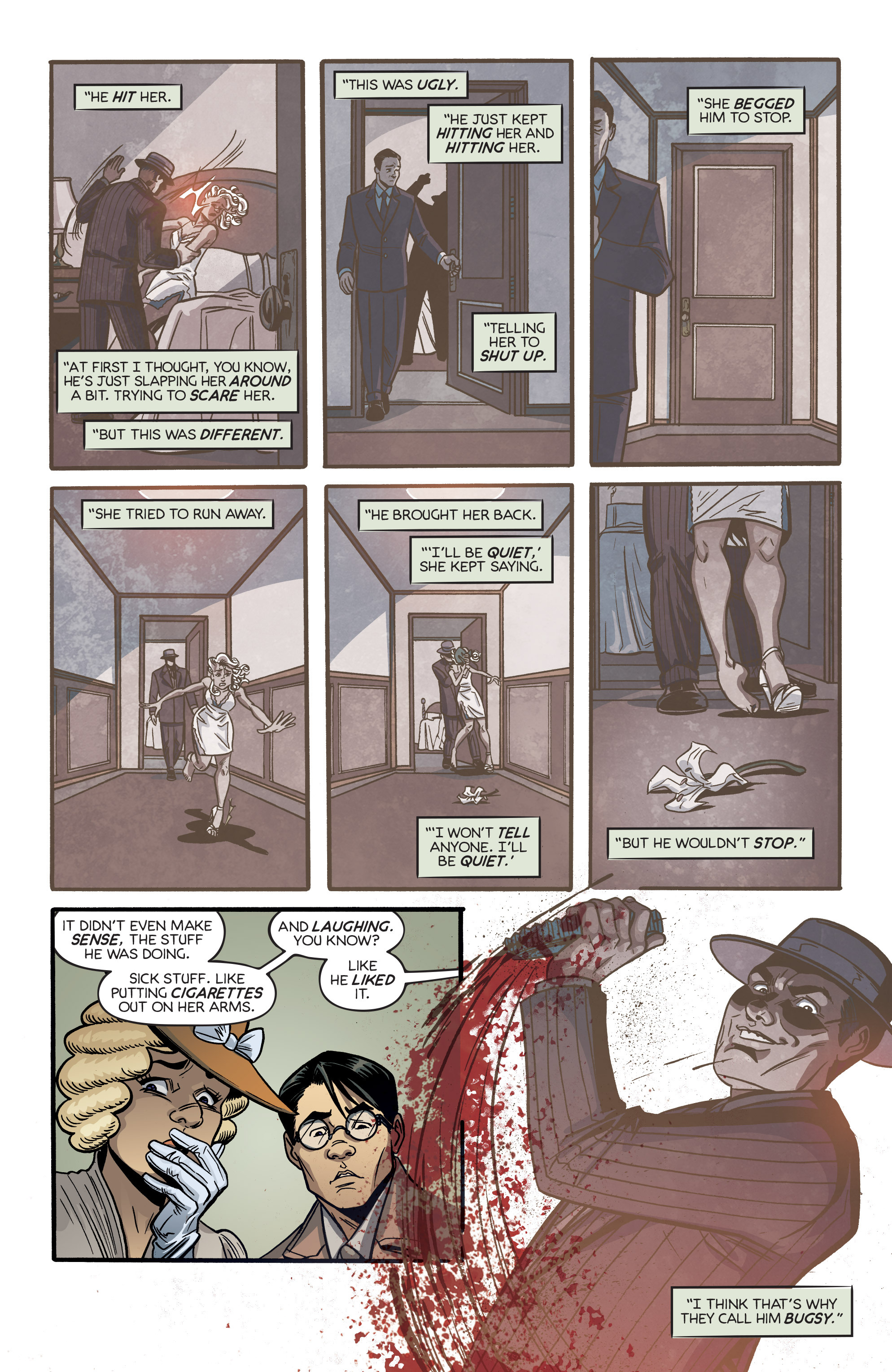 Read online Angel City comic -  Issue #6 - 17