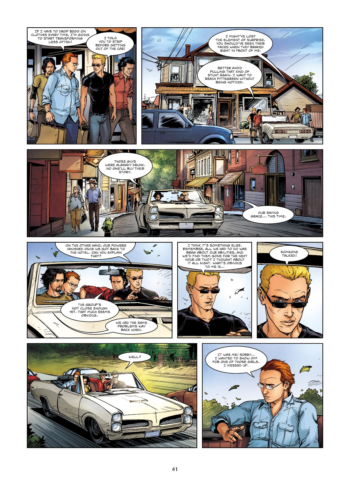 Read online Vigilantes comic -  Issue #2 - 41