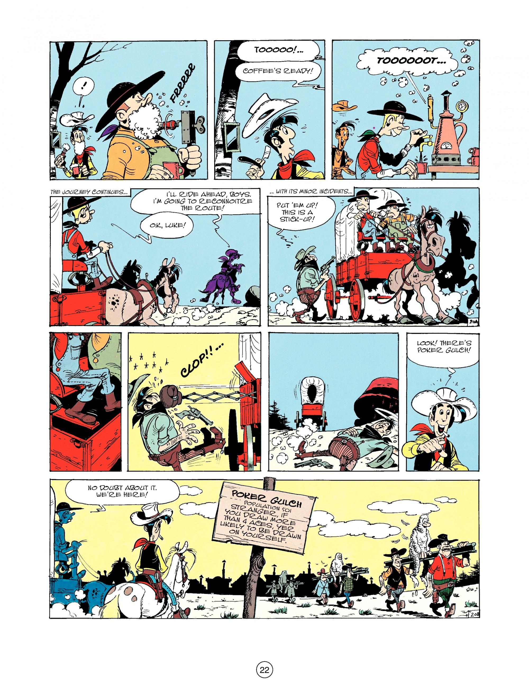 Read online A Lucky Luke Adventure comic -  Issue #33 - 22