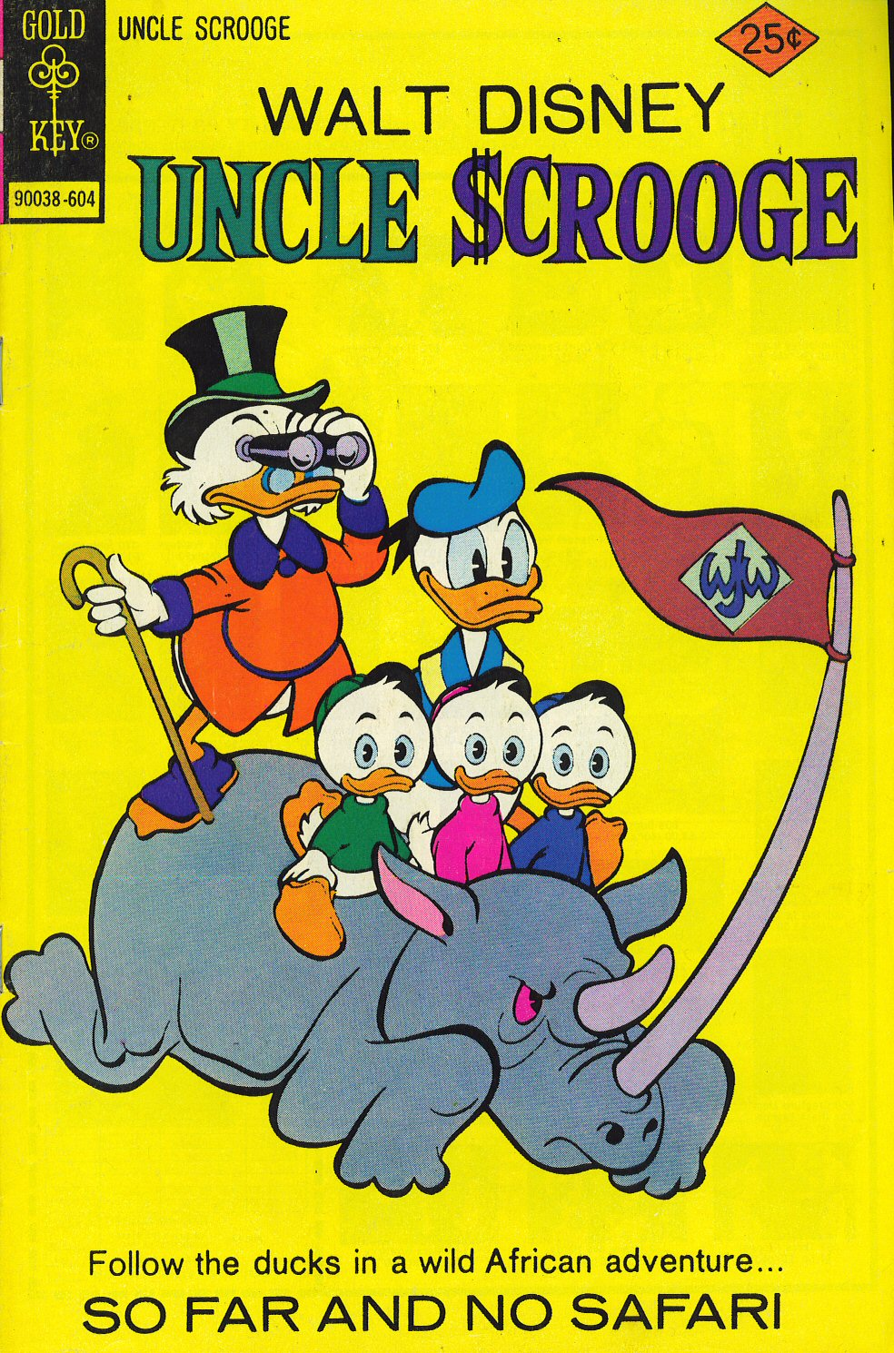 Read online Uncle Scrooge (1953) comic -  Issue #127 - 1