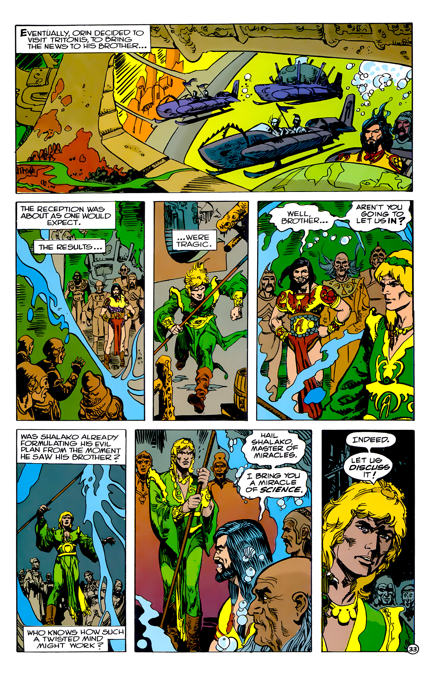 Read online Atlantis Chronicles comic -  Issue #2 - 33