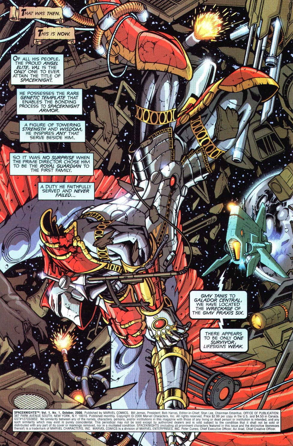 Read online Spaceknights (2000) comic -  Issue #1 - 5
