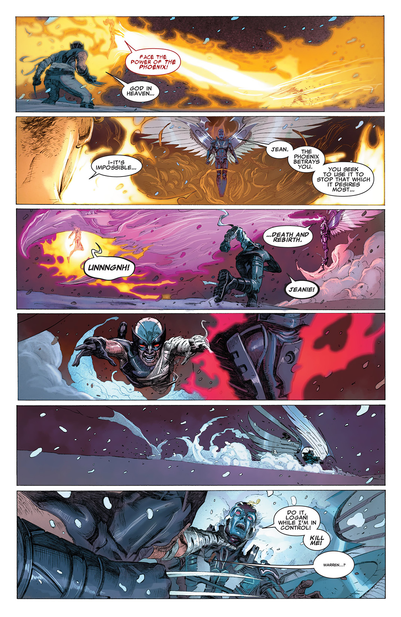 Read online Uncanny X-Force (2010) comic -  Issue #17 - 18
