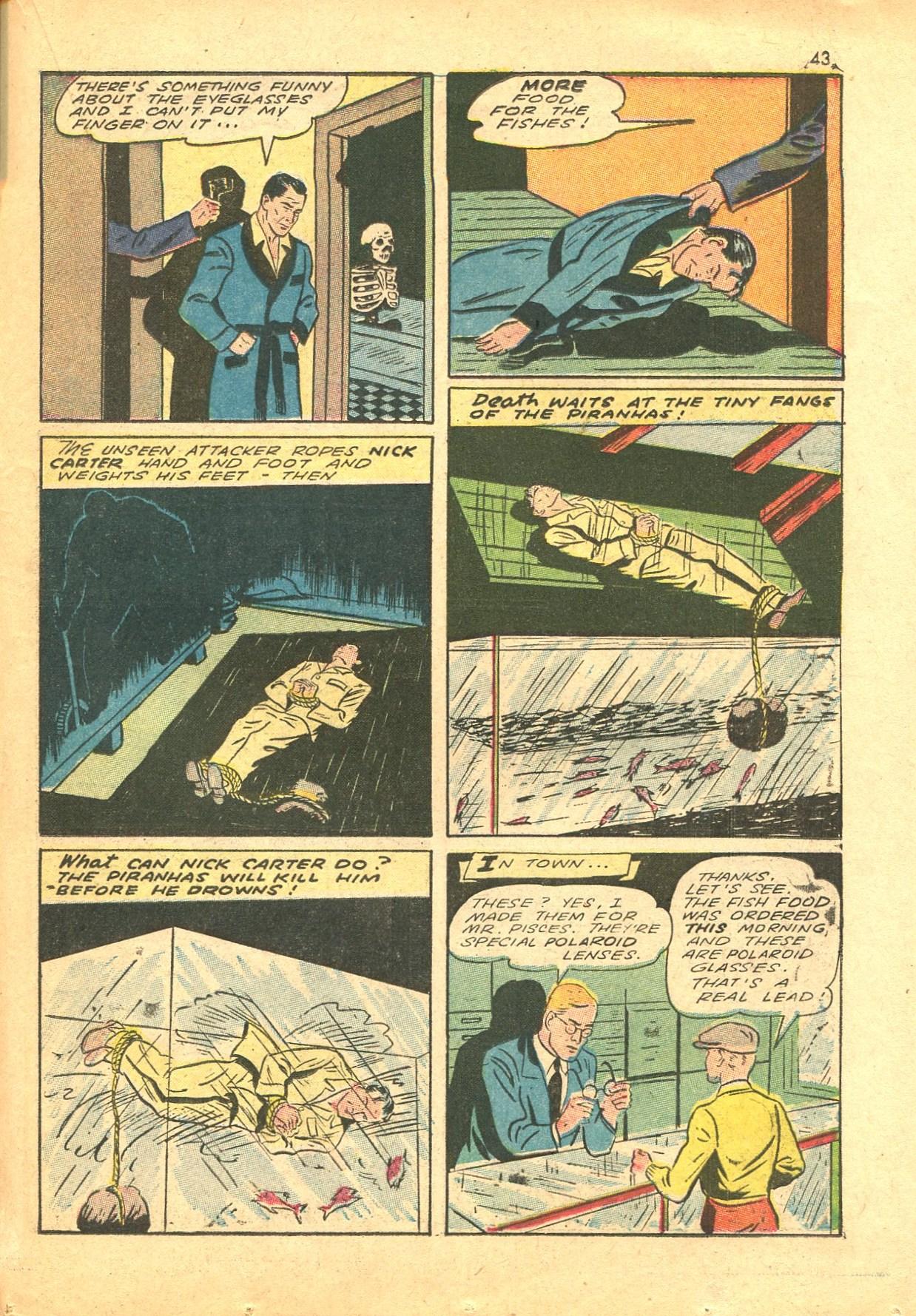 Read online Shadow Comics comic -  Issue #24 - 35
