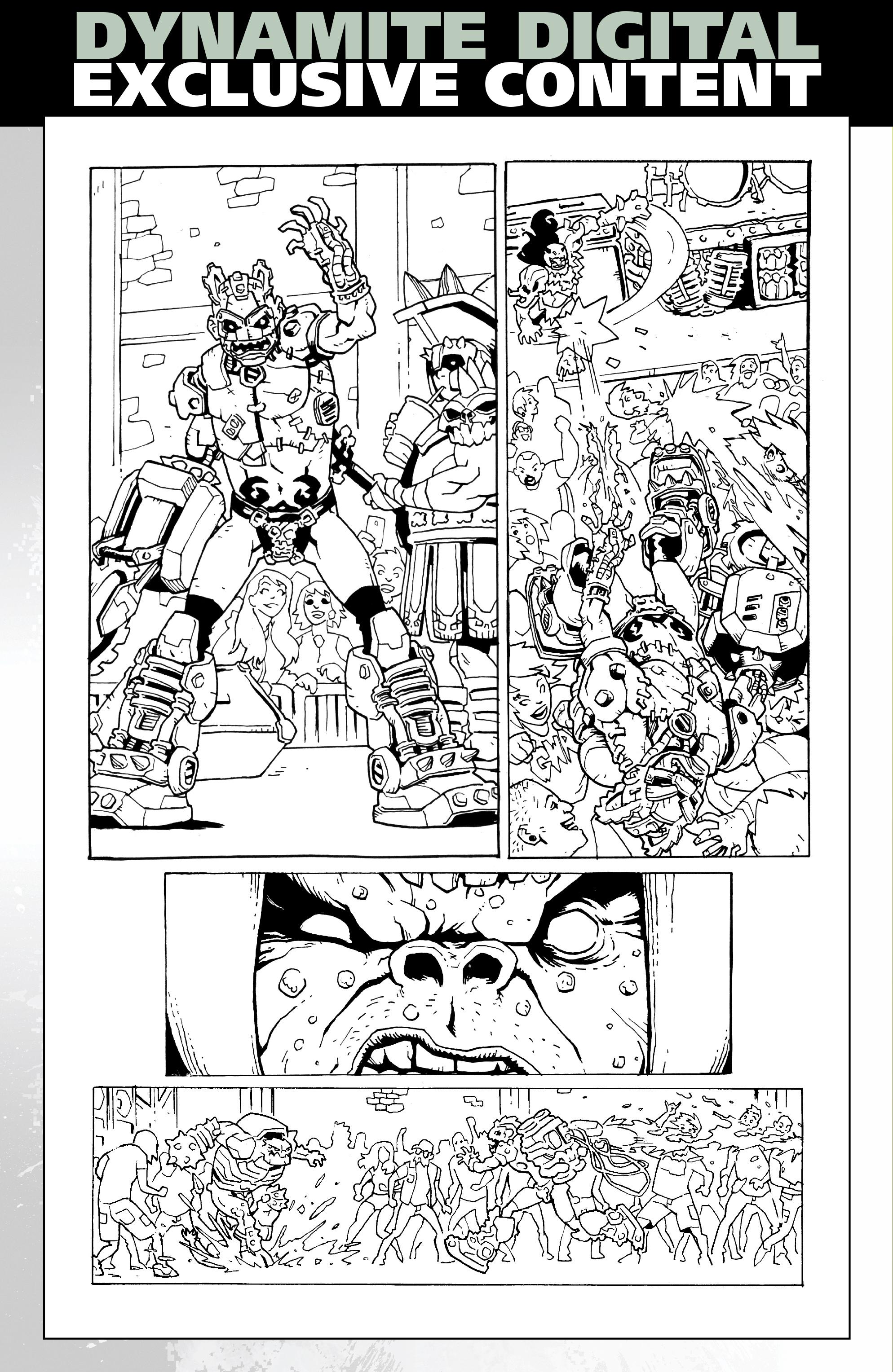 Read online Gwar: Orgasmageddon comic -  Issue #1 - 31