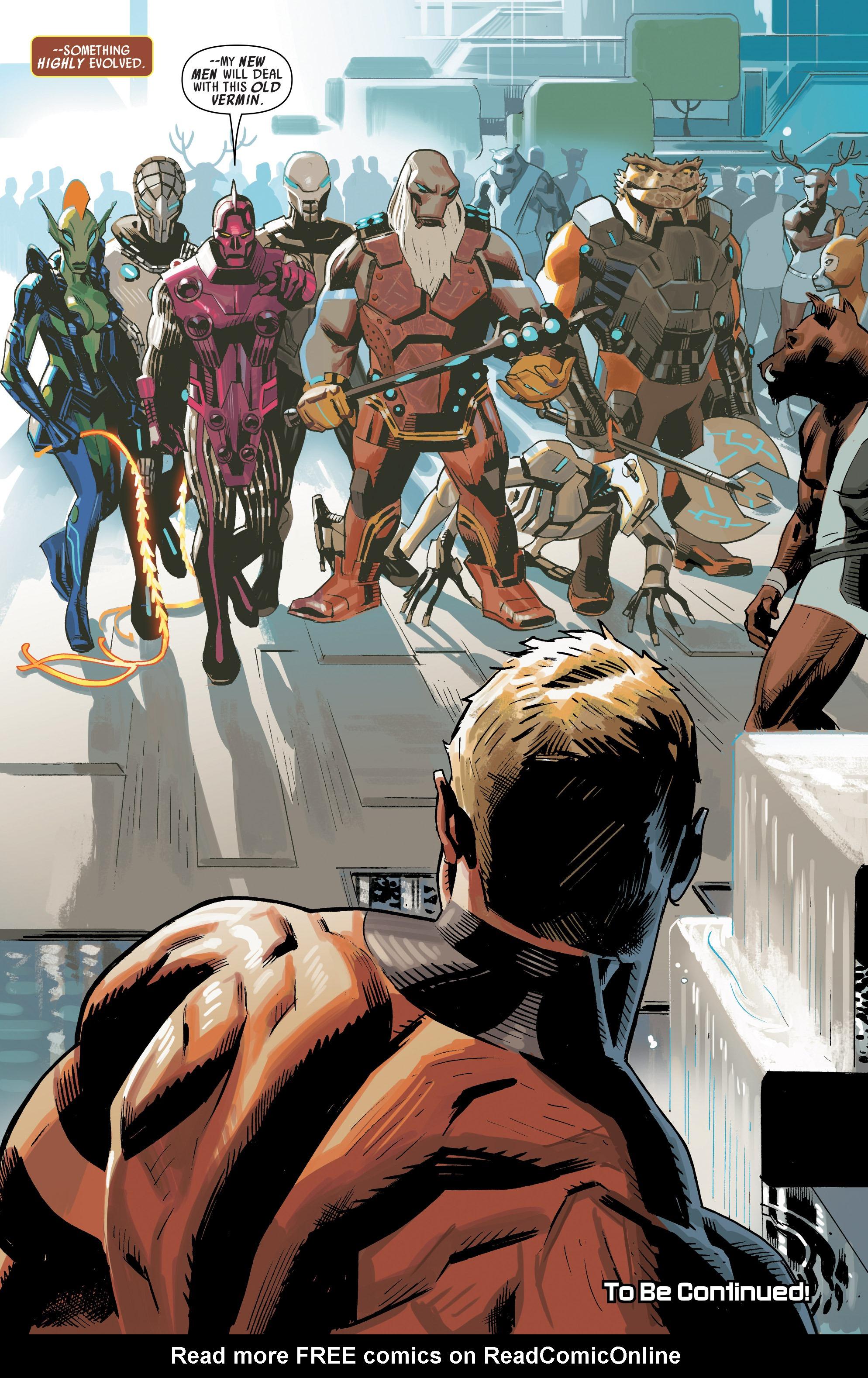 Read online Uncanny Avengers [I] comic -  Issue #1 - 22
