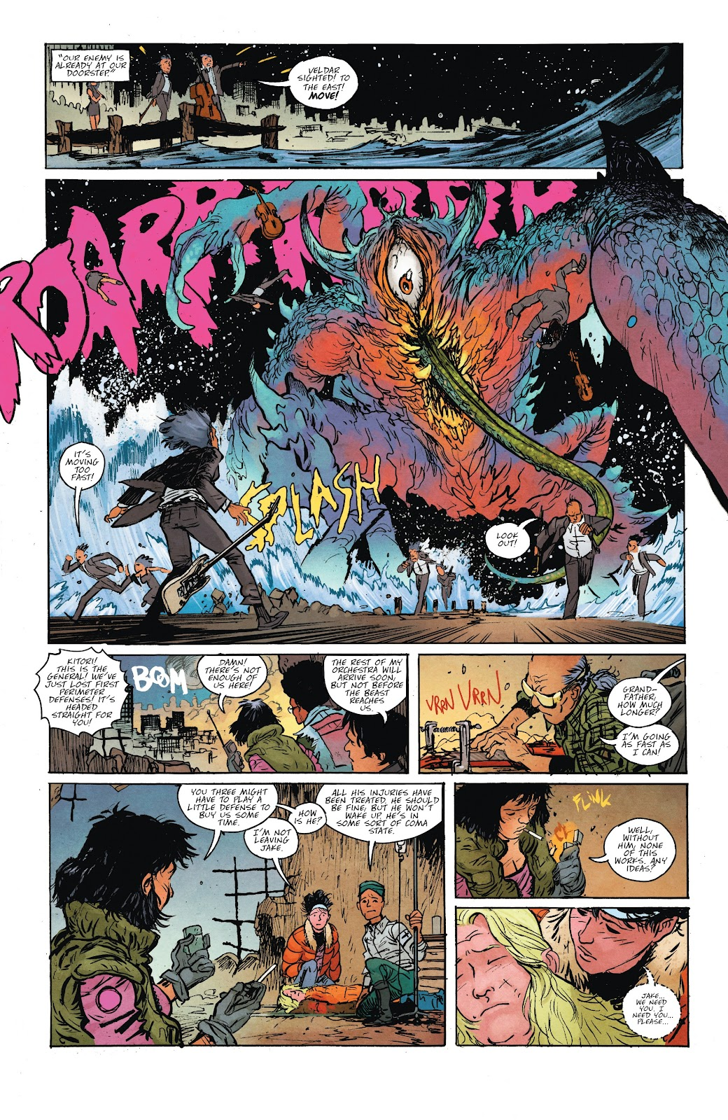 Read online Murder Falcon comic -  Issue #7 - 11