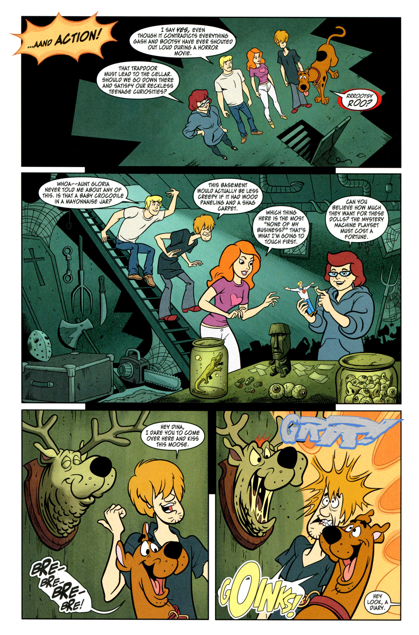 Read online Scooby-Doo: Where Are You? comic -  Issue #29 - 13