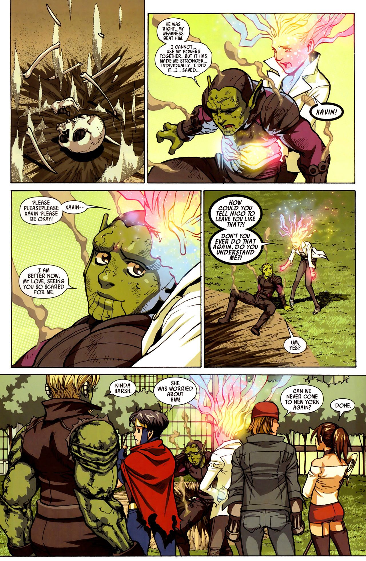 Read online Secret Invasion: Runaways/Young Avengers comic -  Issue #3 - 23