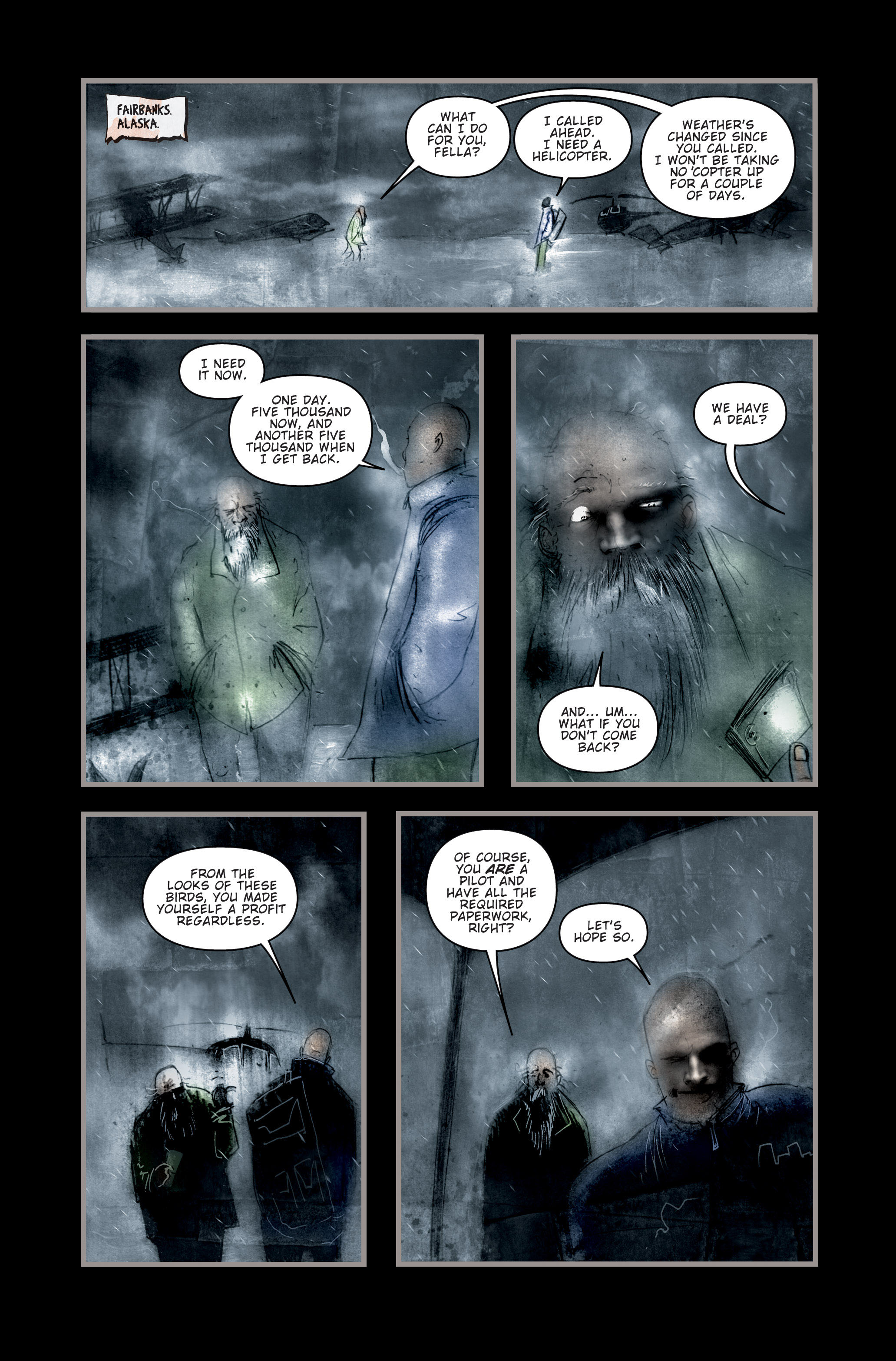 Read online 30 Days of Night (2002) comic -  Issue #2 - 11