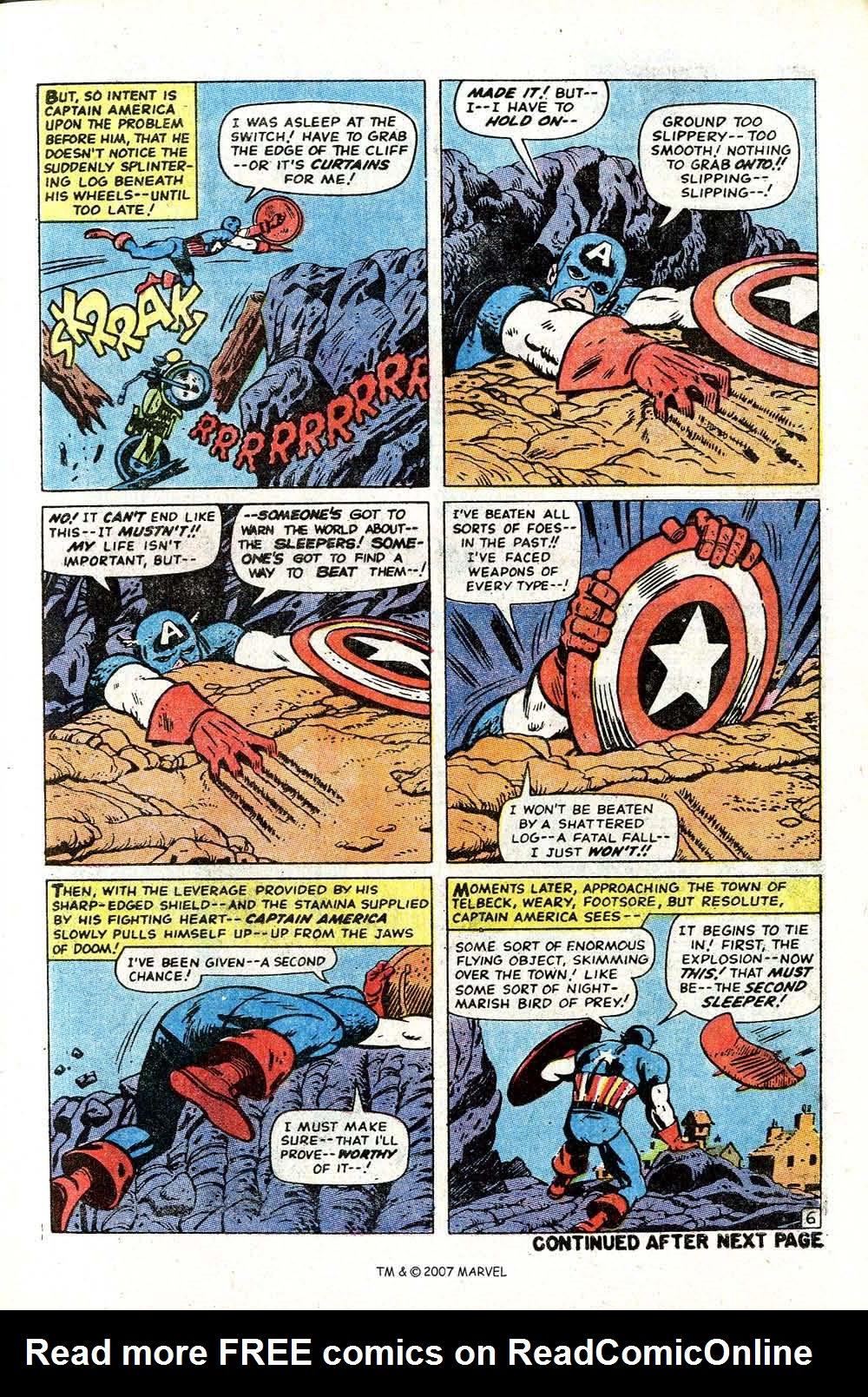 Read online Captain America (1968) comic -  Issue # _Annual 2 - 21
