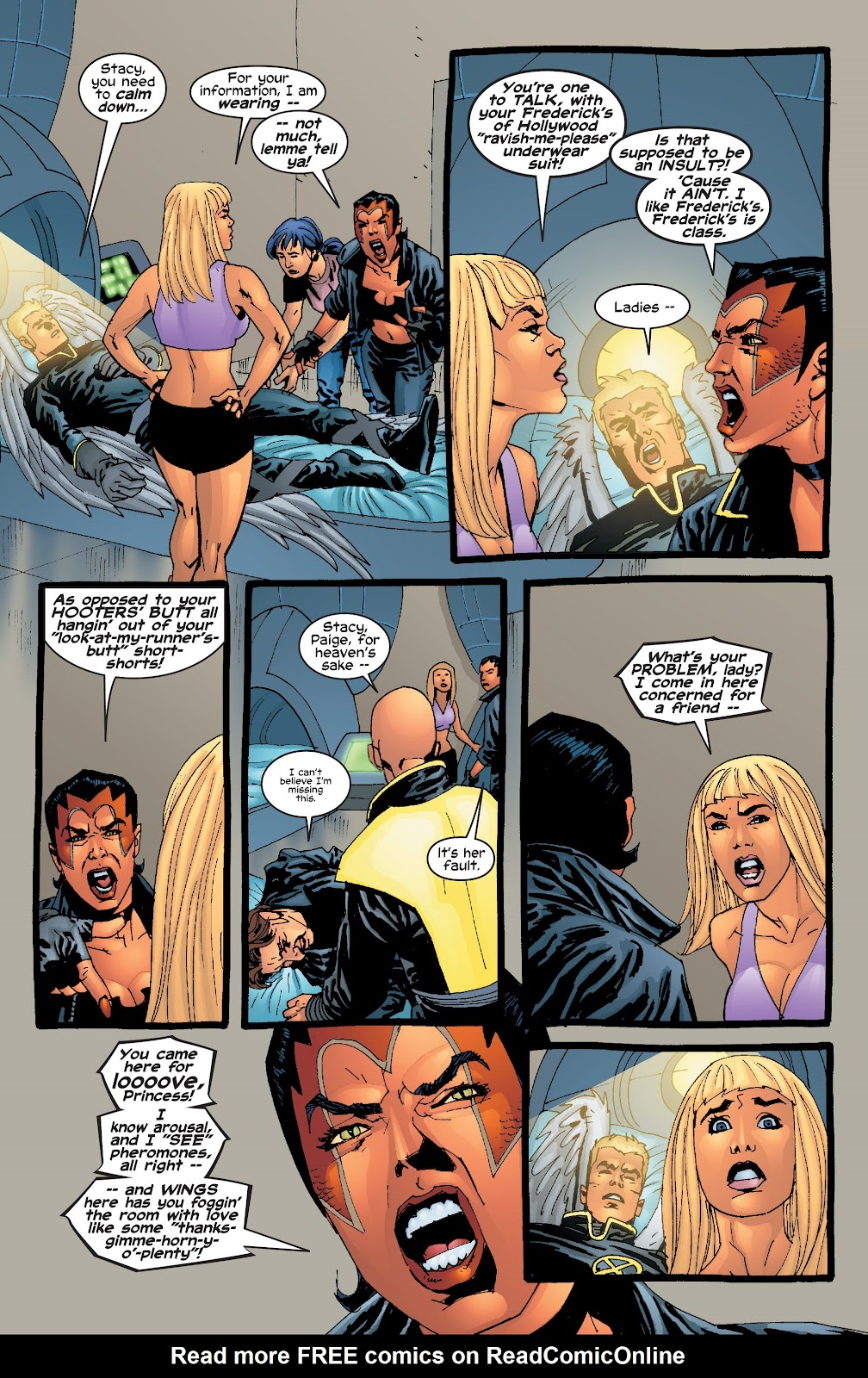 Read online X-Men: Unstoppable comic -  Issue # TPB (Part 1) - 84