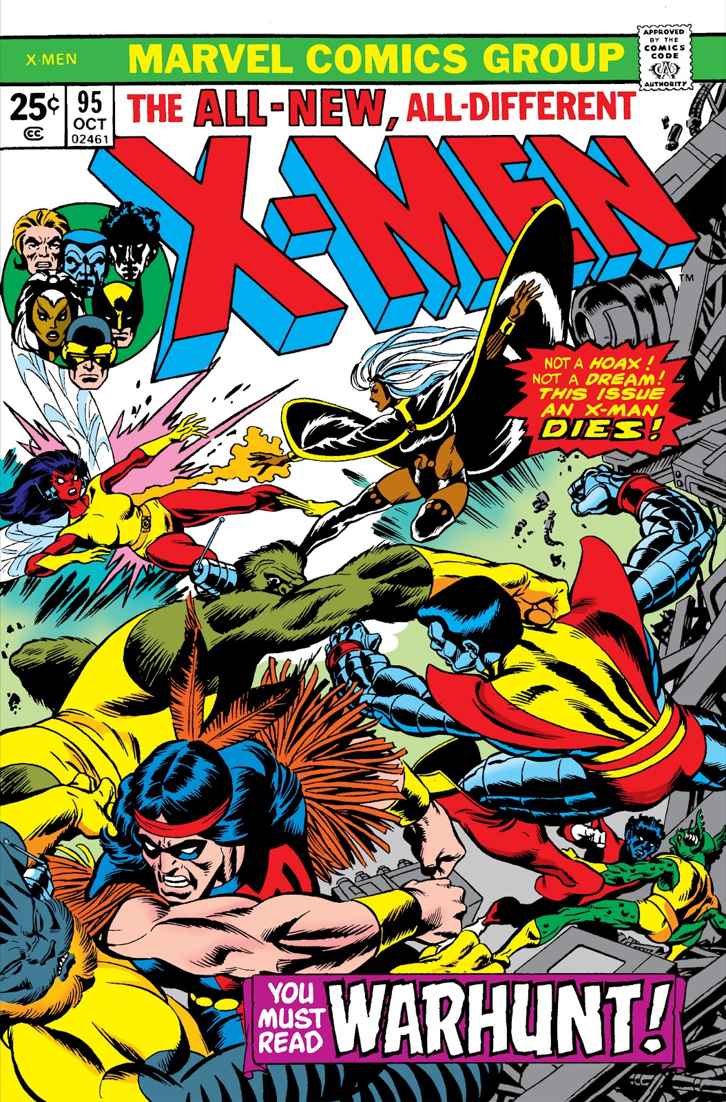 Uncanny X-Men (1963) issue 95 - Page 1