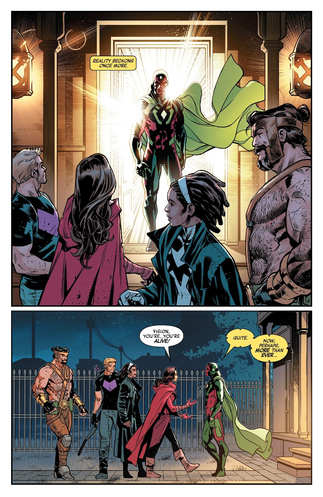 Read online Avengers No Road Home comic -  Issue #10 - 18