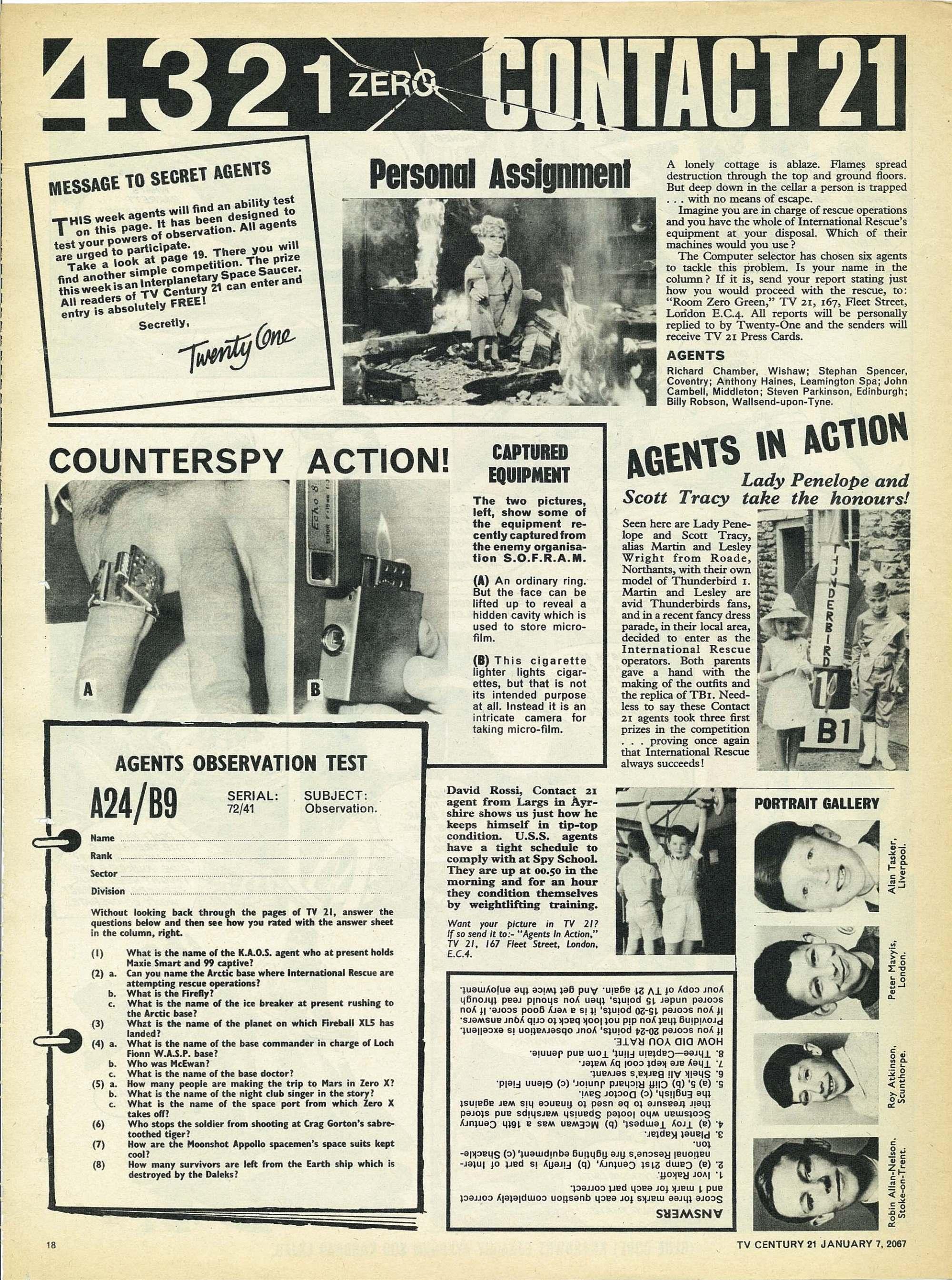Read online TV Century 21 (TV 21) comic -  Issue #103 - 17
