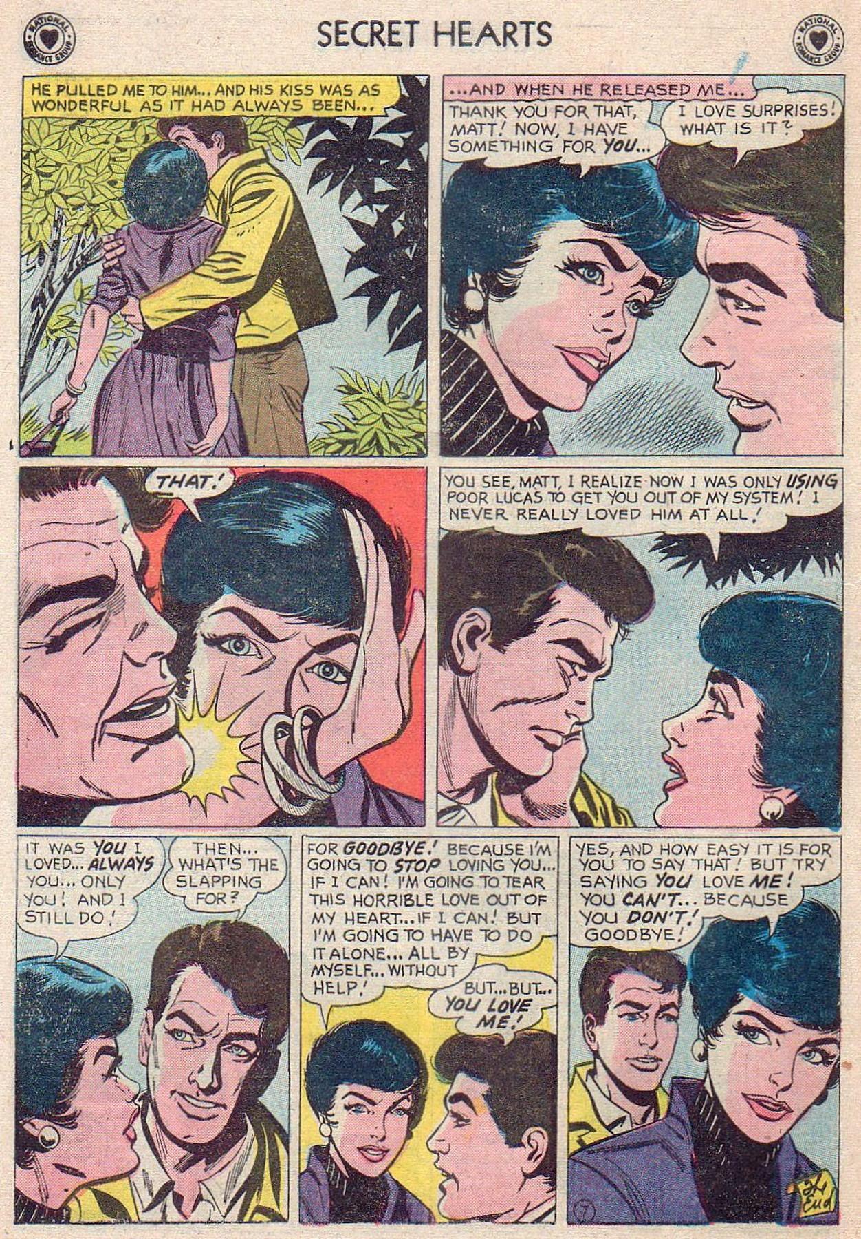 Read online Secret Hearts comic -  Issue #61 - 16