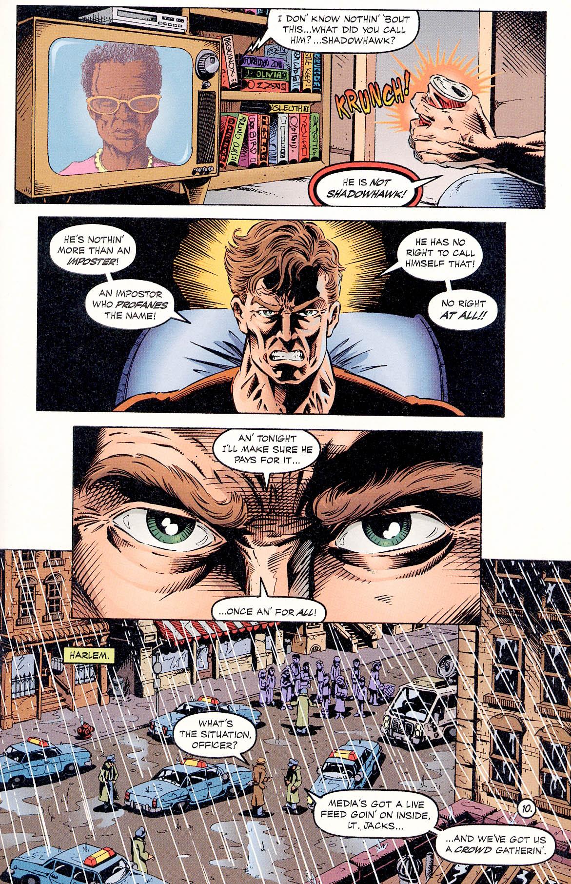 Read online ShadowHawk comic -  Issue #18 - 12