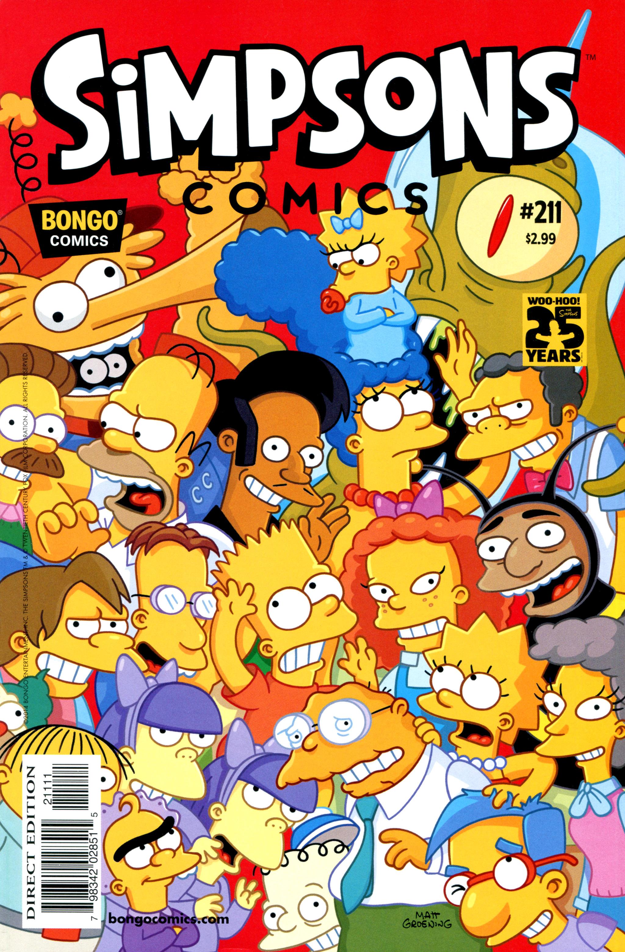 Simpsons Comics 211 Page 1