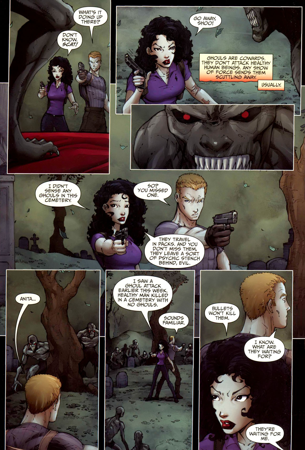 Read online Anita Blake, Vampire Hunter: Guilty Pleasures comic -  Issue #10 - 21