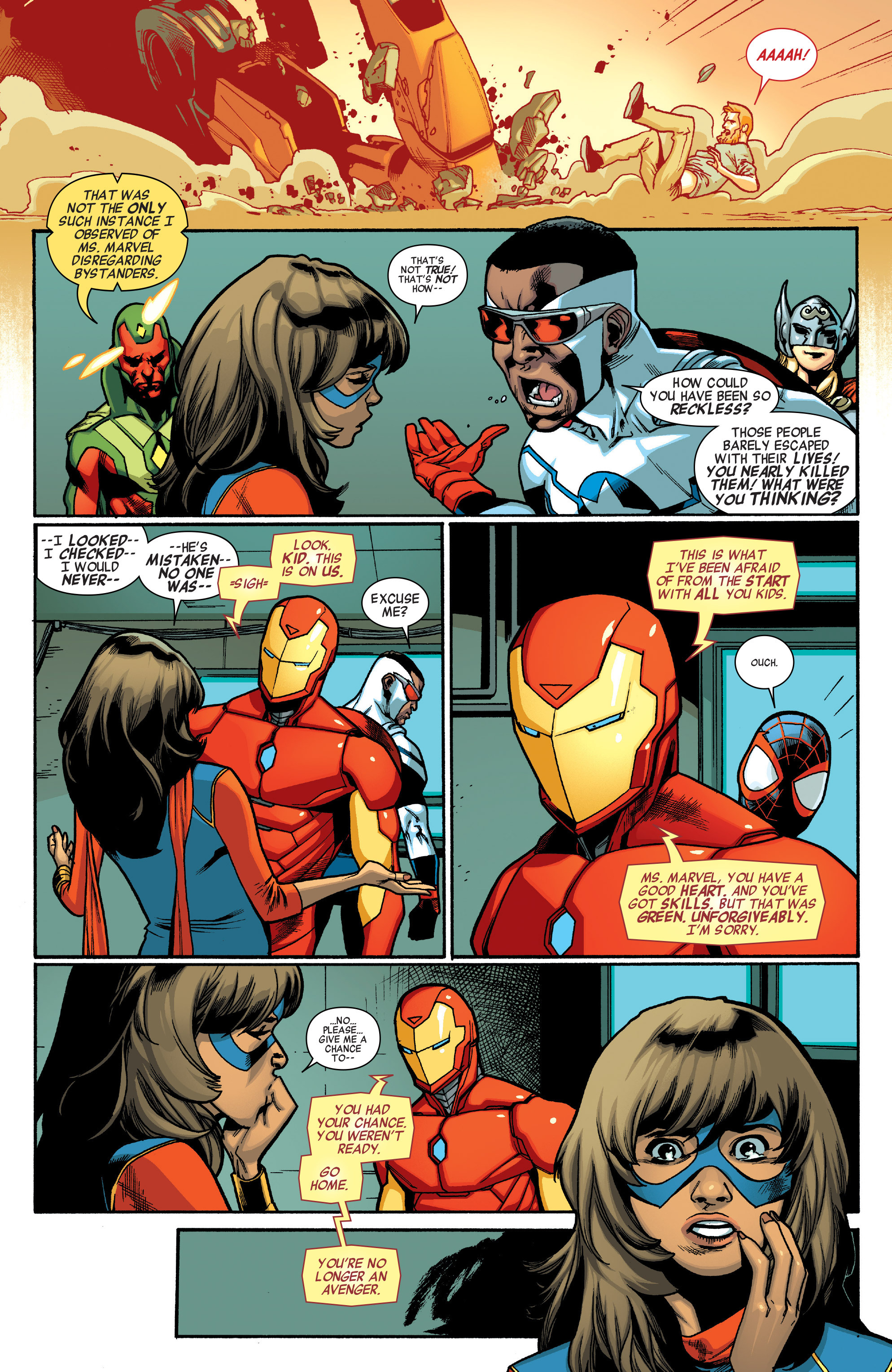 Read online All-New, All-Different Avengers comic -  Issue #5 - 11