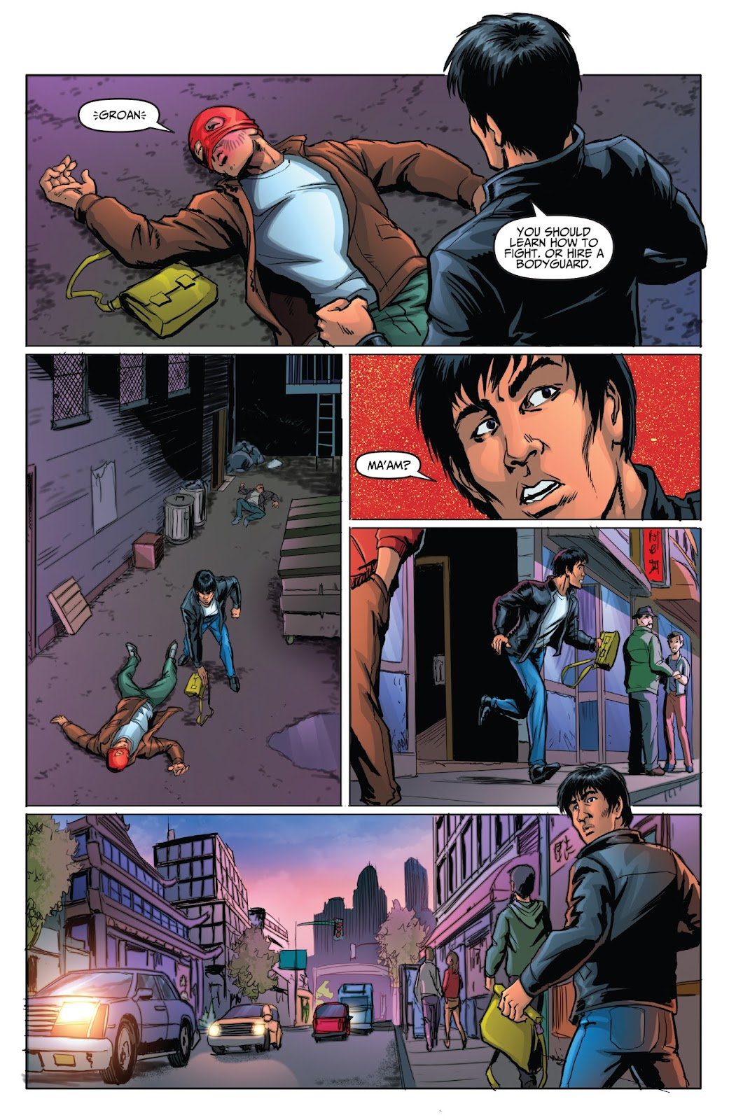 Bruce Lee: Walk of the Dragon issue Full - Page 11