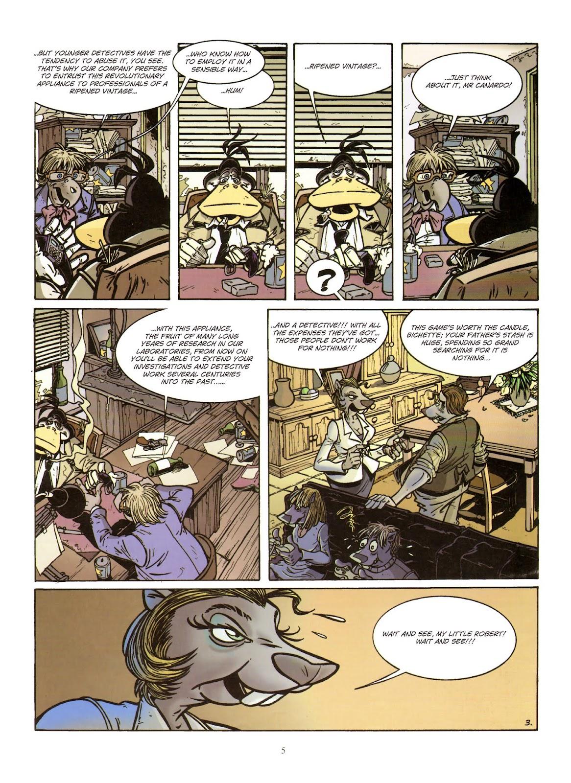 Une enquête de l'inspecteur Canardo issue 11 - Page 6