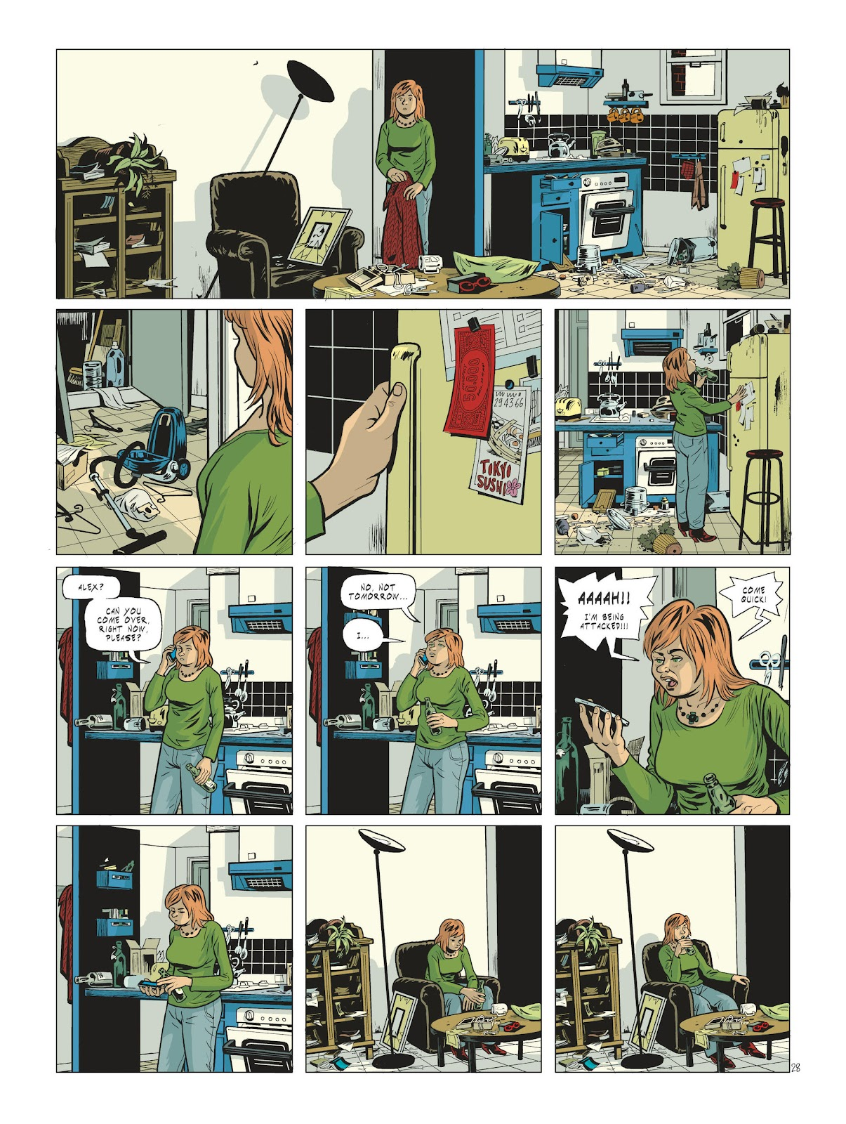 Read online Maggy Garrisson comic -  Issue #2 - 30