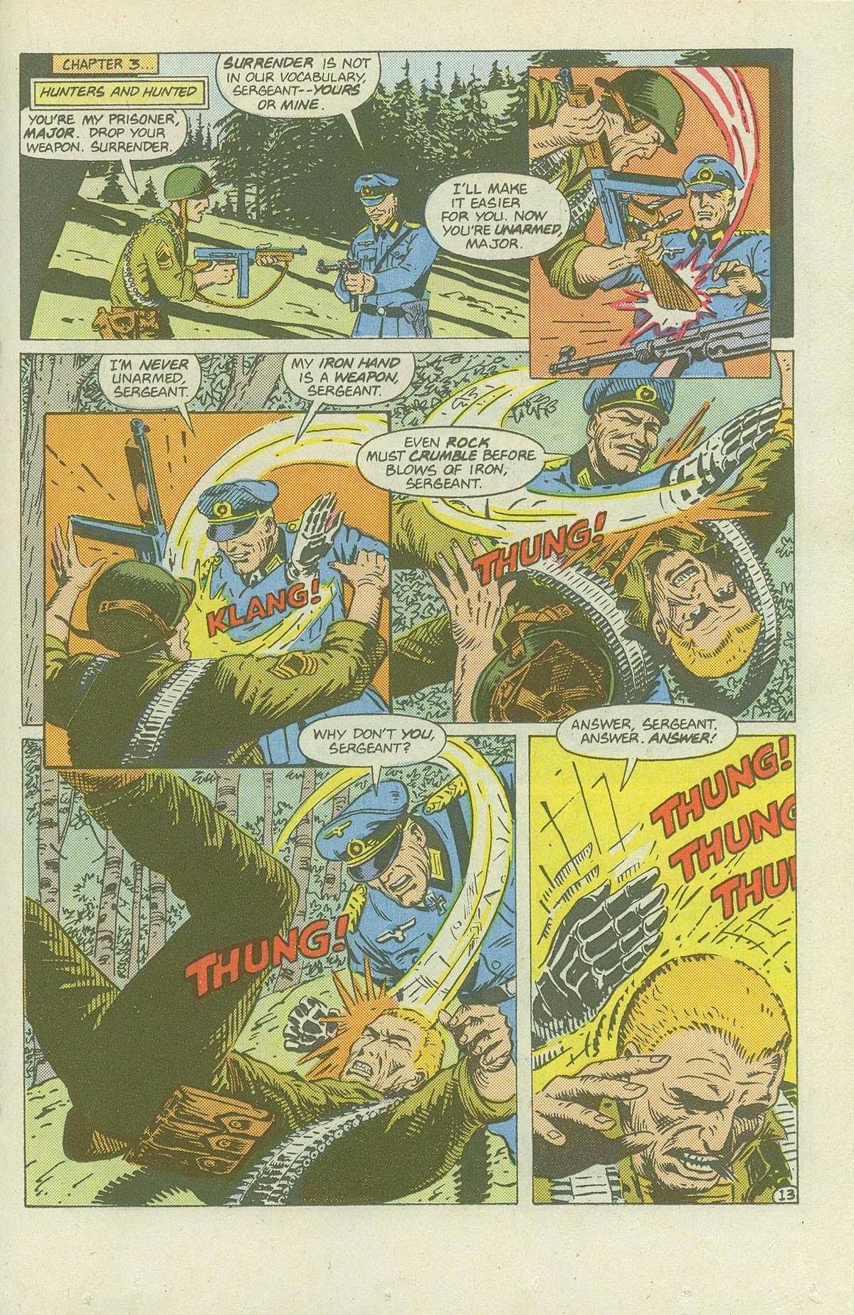 Read online Sgt. Rock comic -  Issue #420 - 18