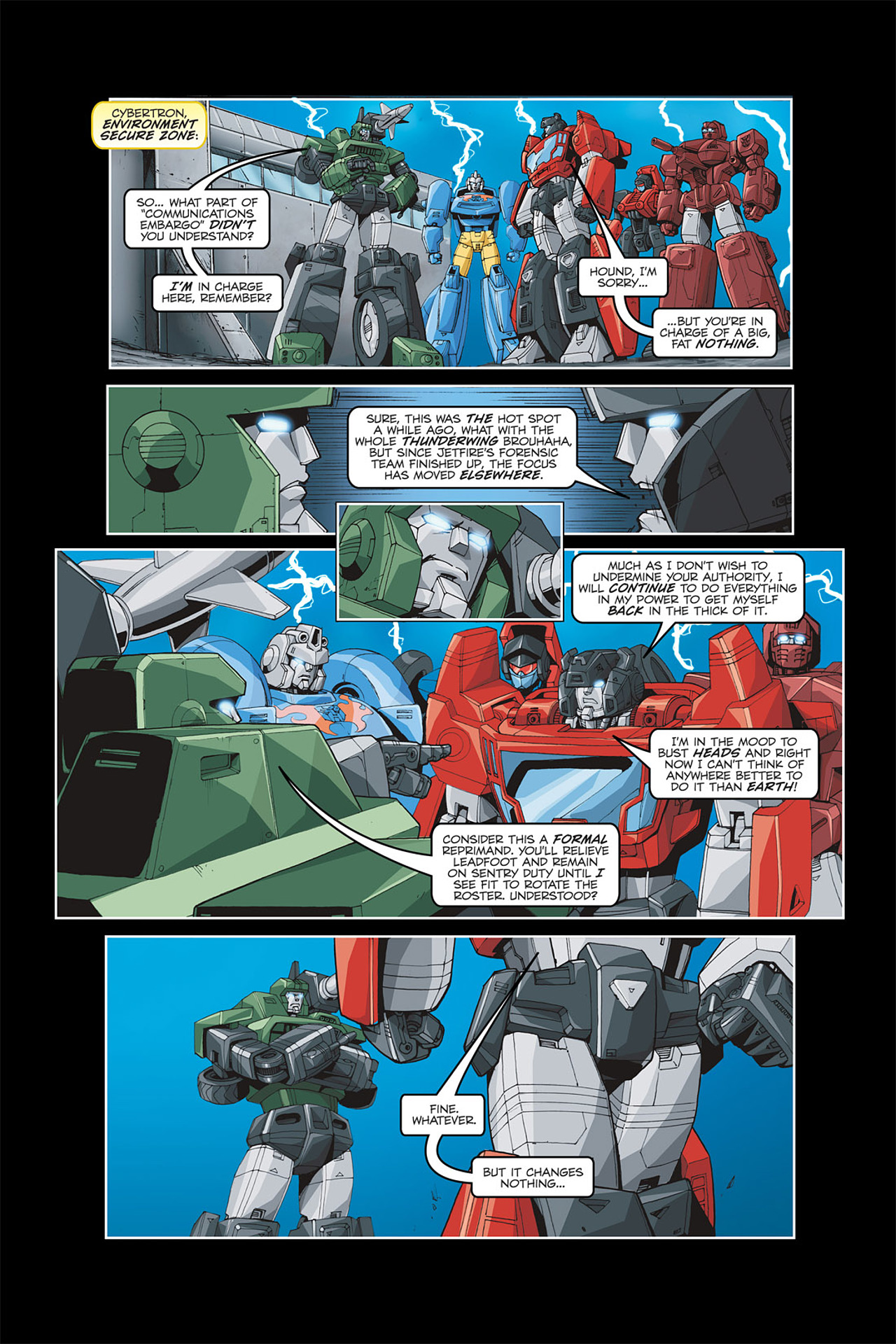 Read online Transformers Spotlight: Galvatron comic -  Issue # Full - 13