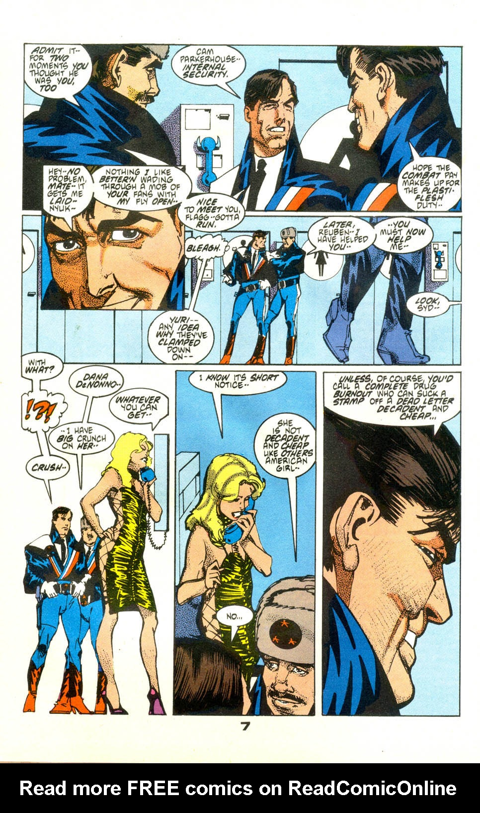 Read online American Flagg! comic -  Issue #24 - 9