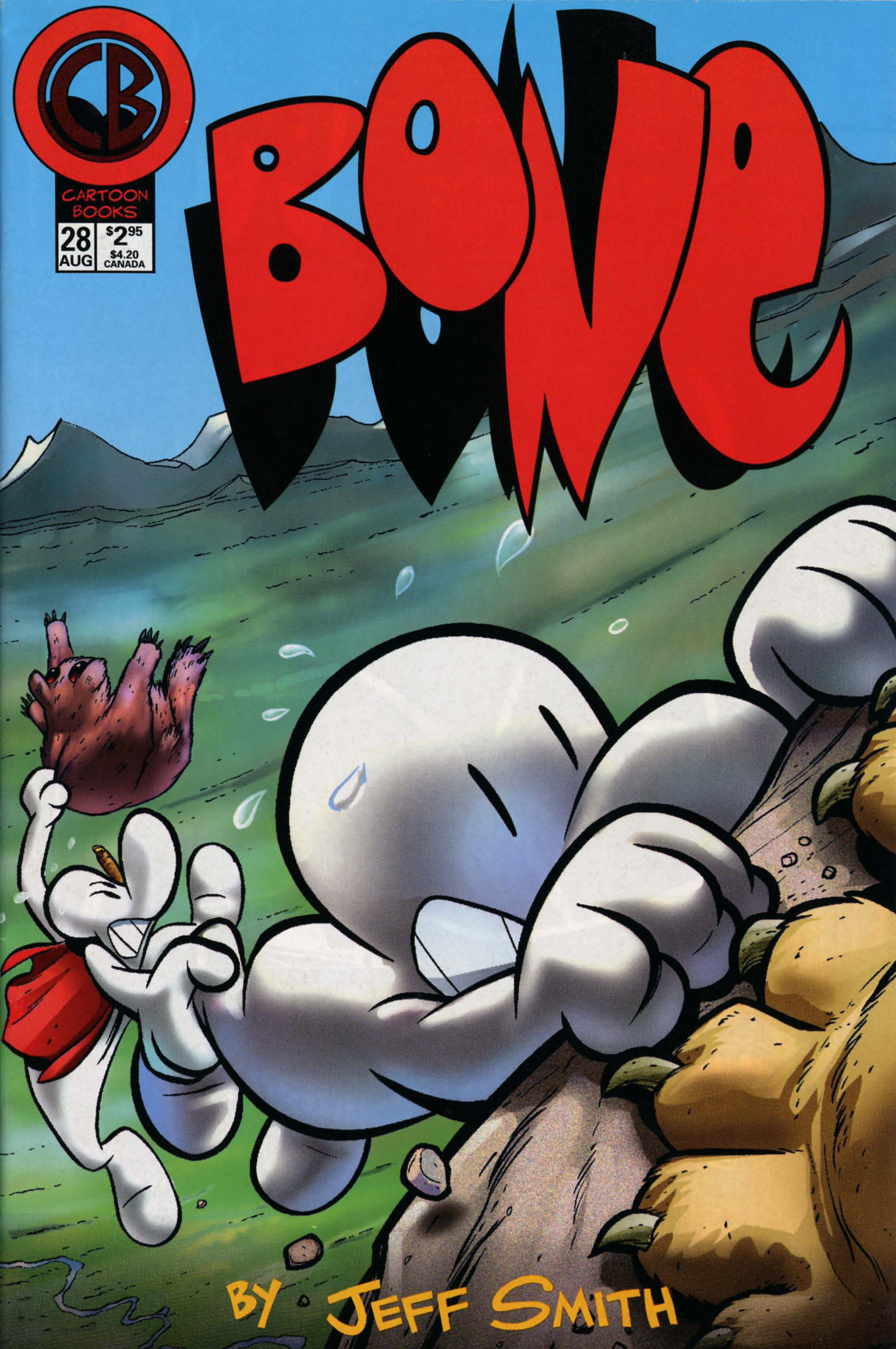 Bone 1991 Issue 28