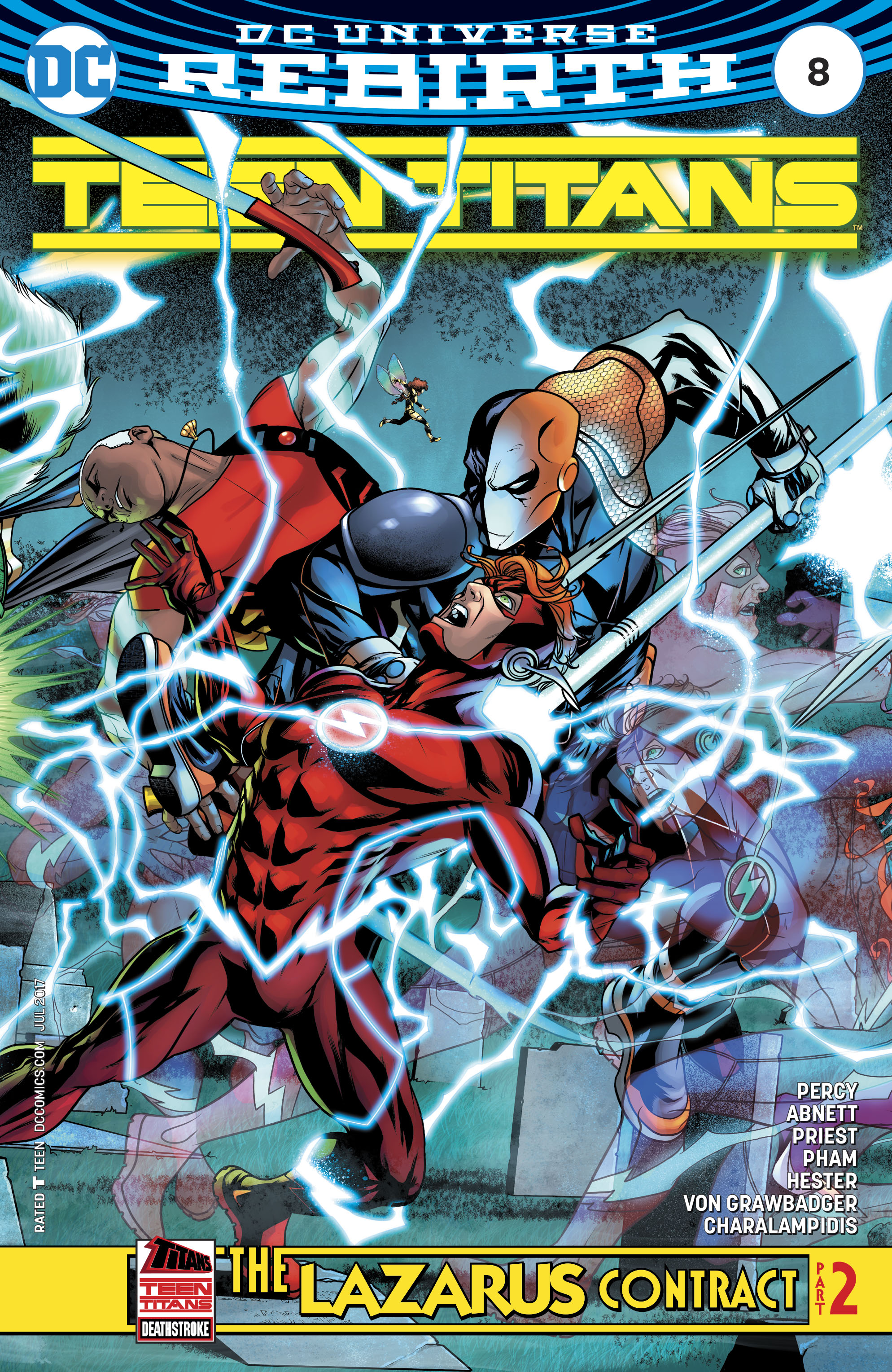 Read online Teen Titans (2016) comic -  Issue #8 - 1