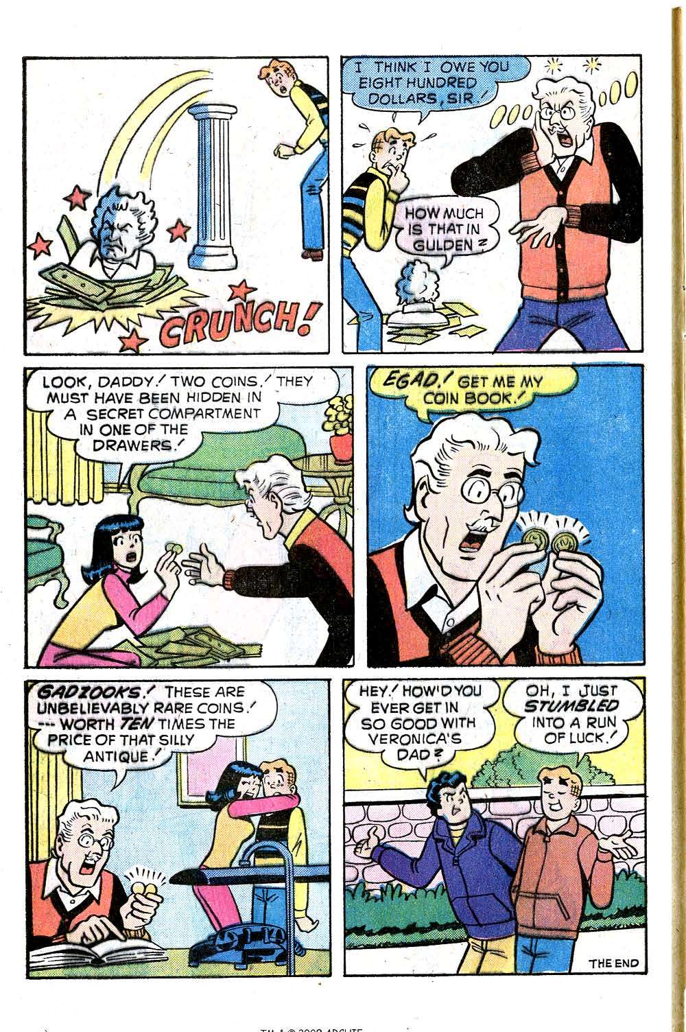 Read online Archie (1960) comic -  Issue #244 - 8